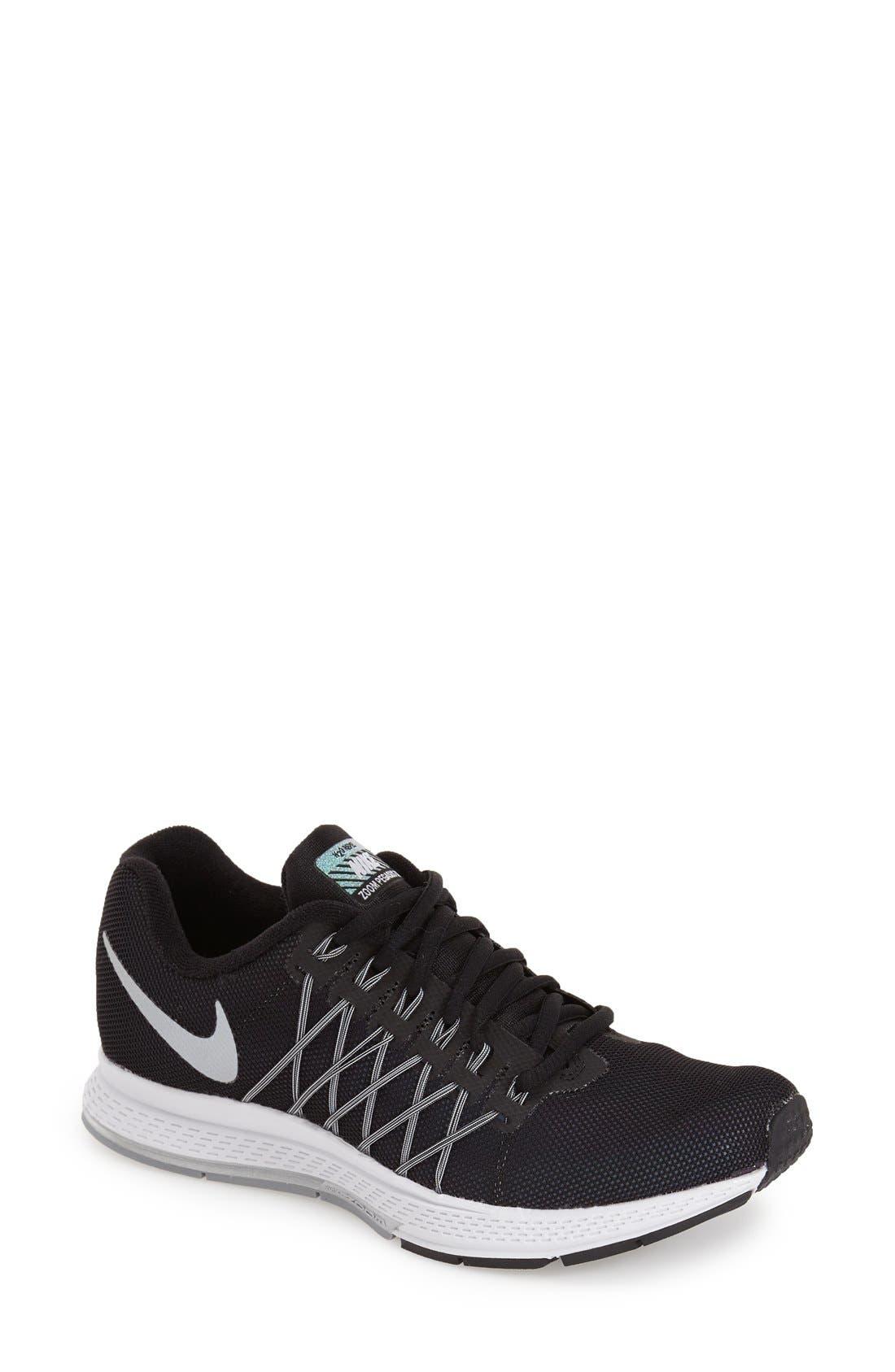 NIKE 'Zoom Pegasus 32 - Flash' h2o Repel Running Shoe, Main, color, 001