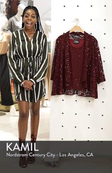 Sequin Lace Twinset, sales video thumbnail