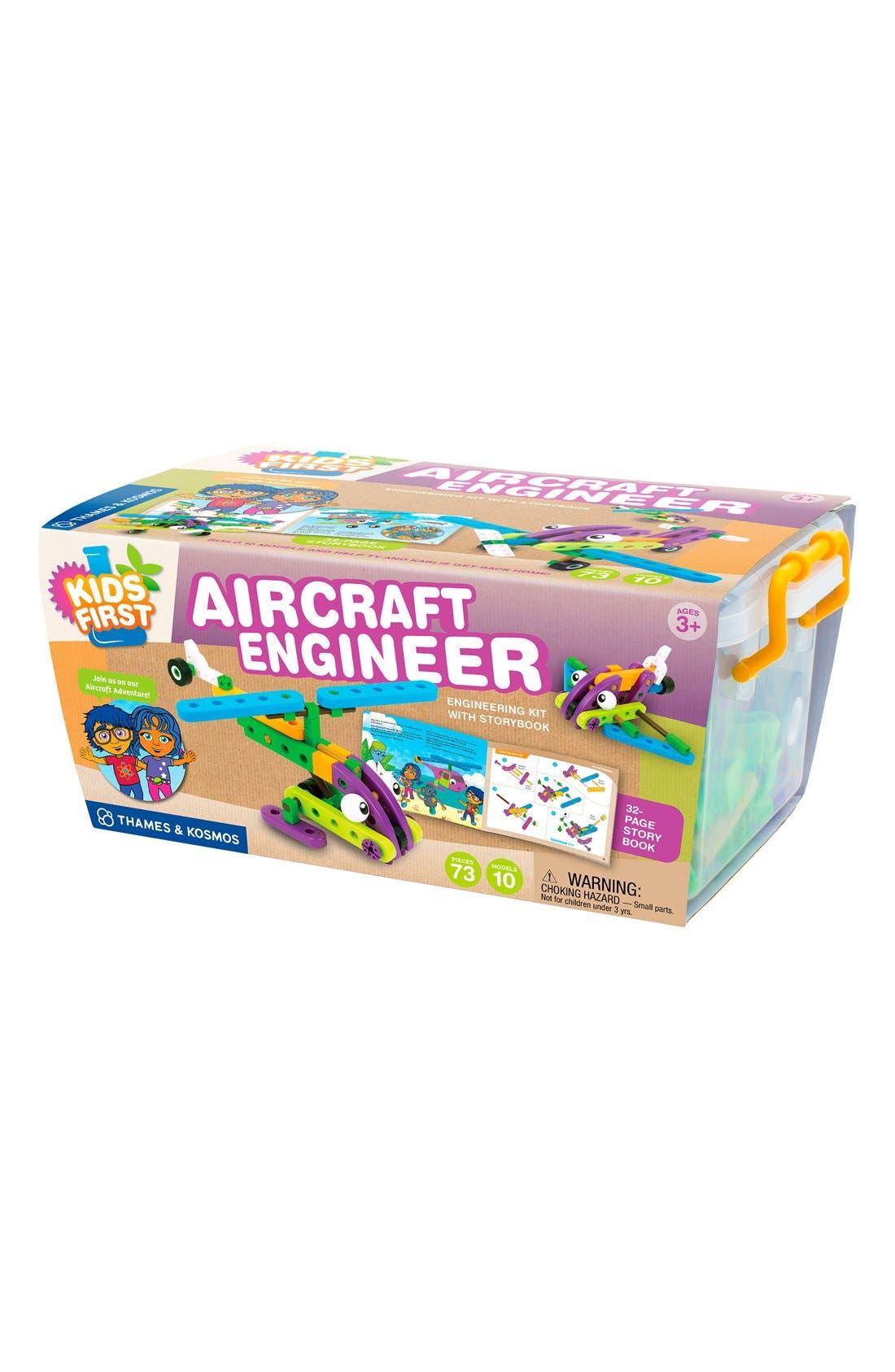 'Kid First - Aircraft Engineer' Kit,                             Main thumbnail 1, color,                             BLUE