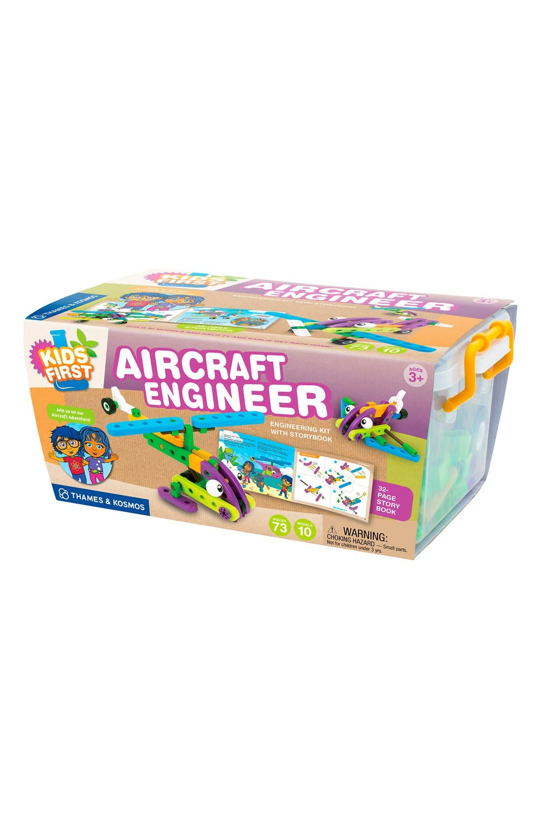 'Kid First - Aircraft Engineer' Kit,                         Main,                         color, BLUE