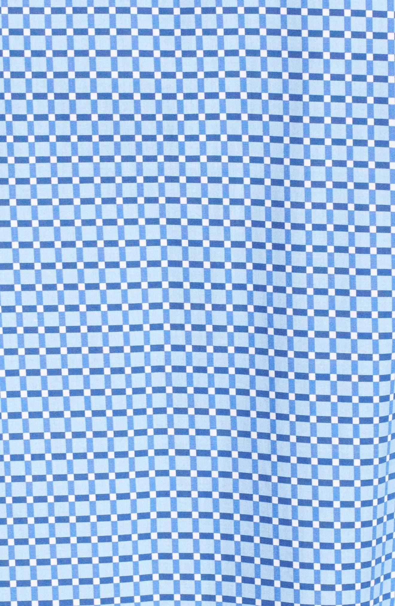 Shaped Fit Print Sport Shirt,                             Alternate thumbnail 24, color,