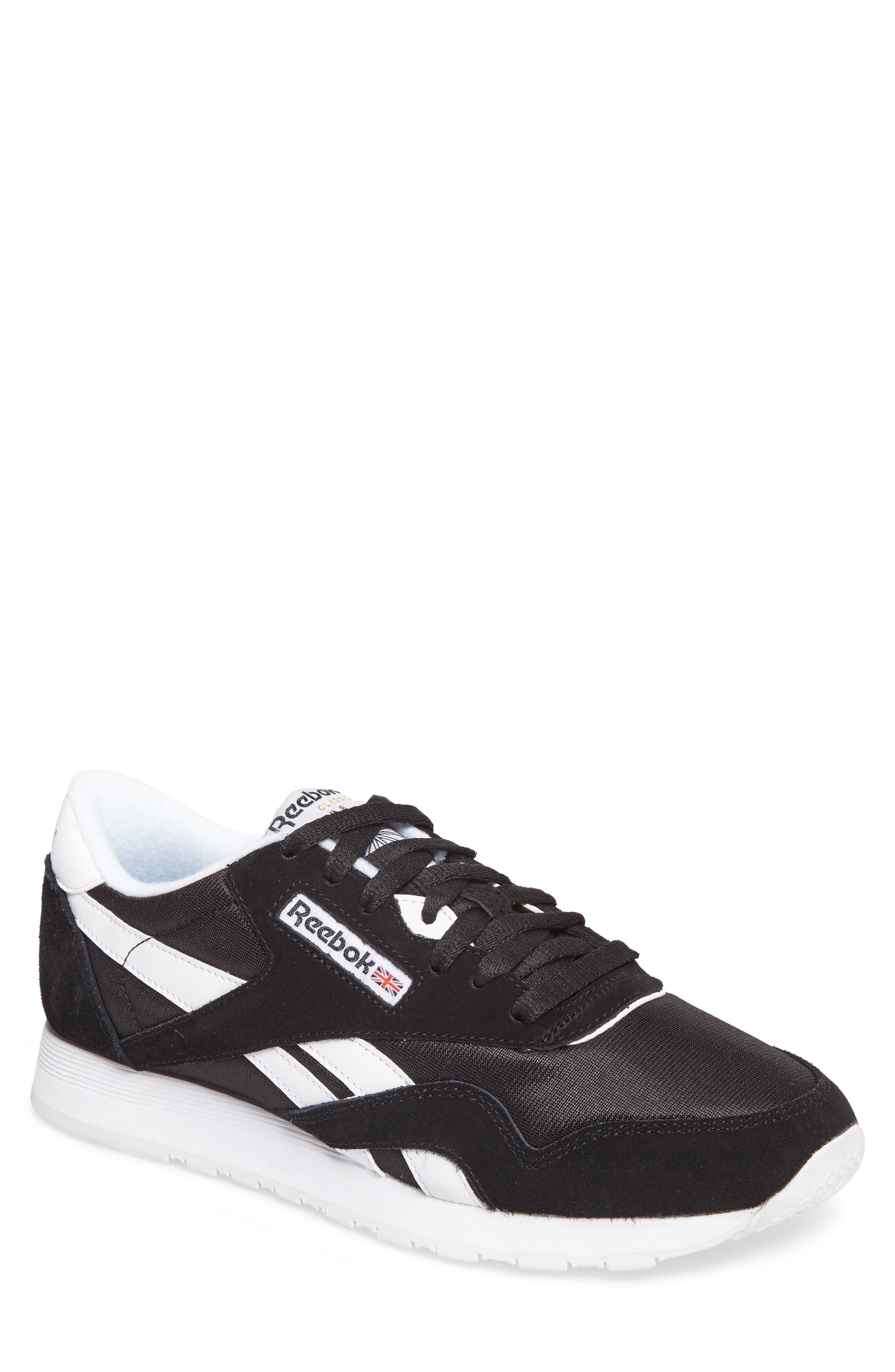 Classic Nylon Sneaker,                         Main,                         color, 001