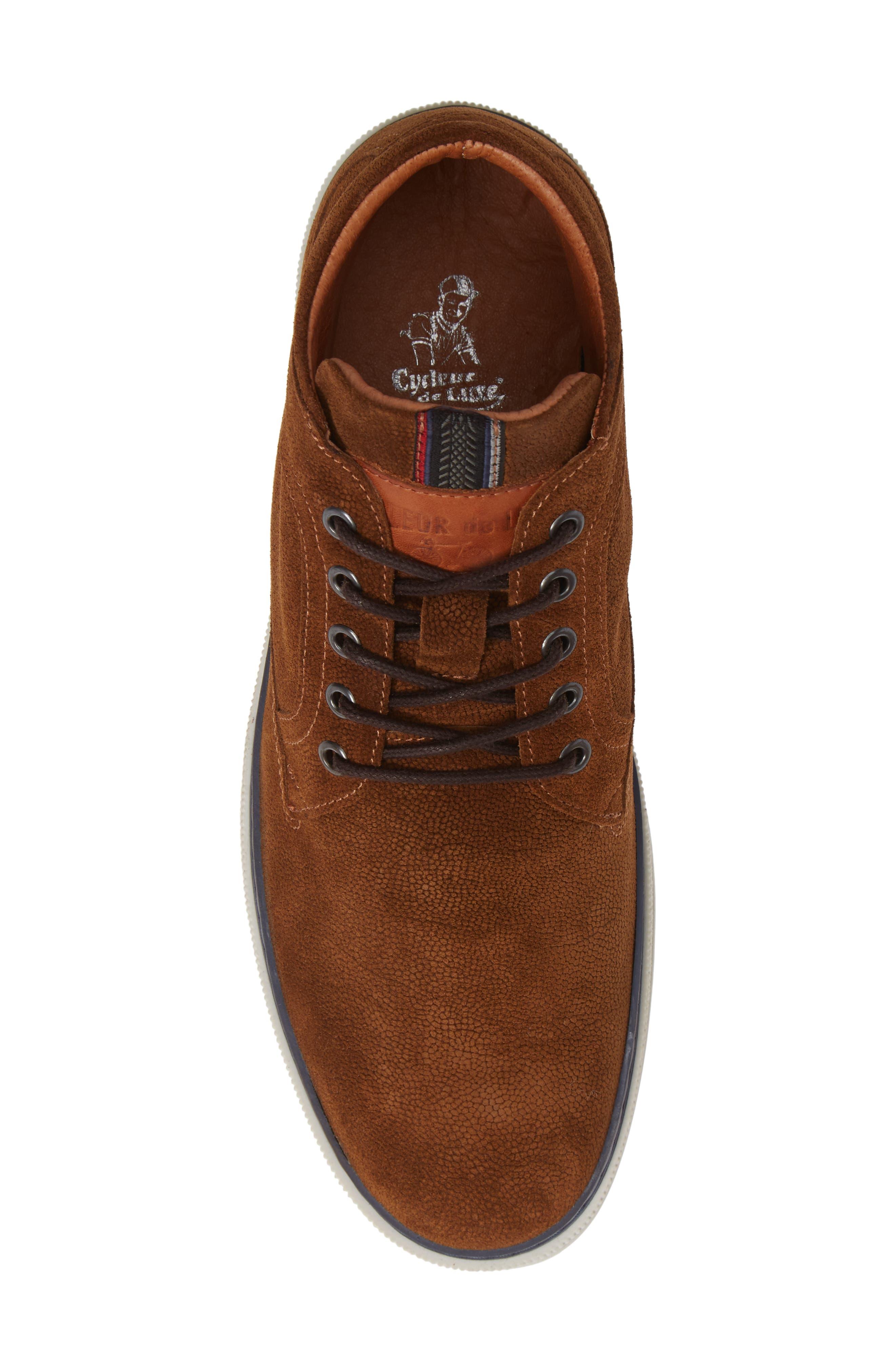 Bilbao Sneaker,                             Alternate thumbnail 5, color,                             COGNAC