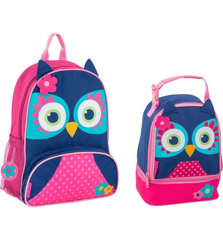 11362caf79c5 Stephen Joseph Owl Sidekick Backpack   Lunch Pal (Kids)
