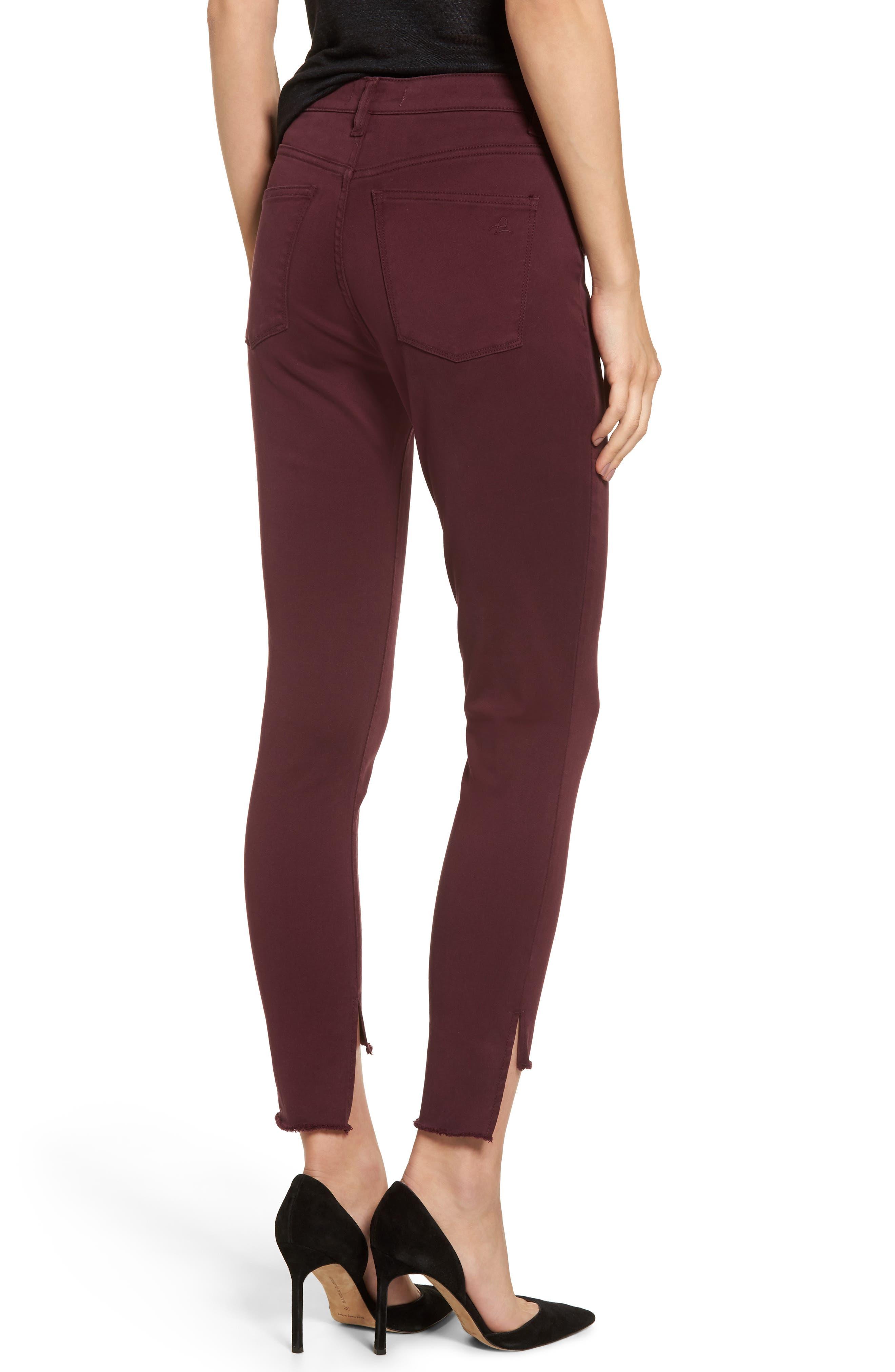 Chrissy Trimstone High Waist Step Hem Skinny Jeans,                             Alternate thumbnail 2, color,