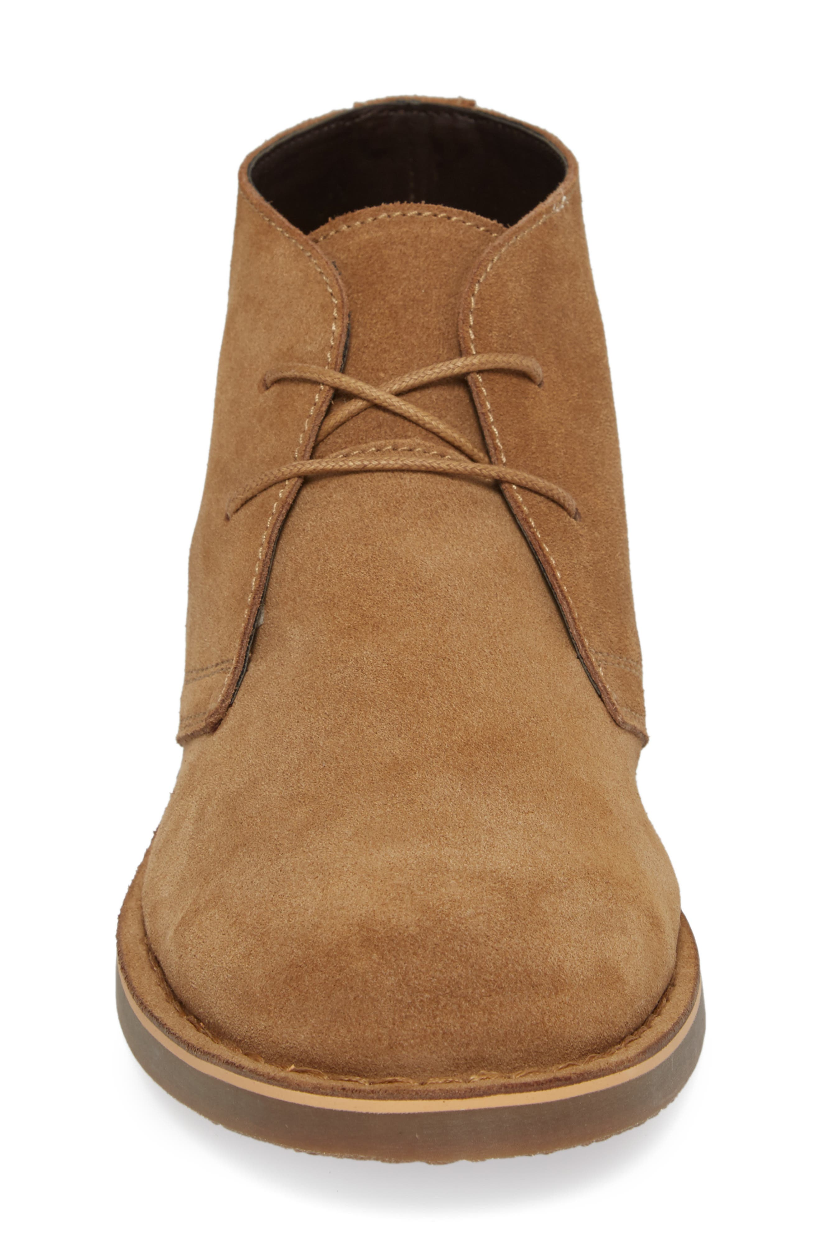 Tempe Chukka Boot,                             Alternate thumbnail 4, color,                             SAND SUEDE