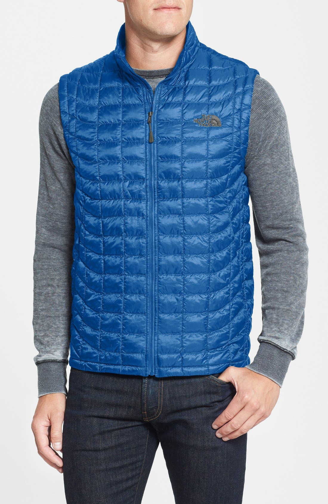 'ThermoBall<sup>™</sup>' Packable PrimaLoft<sup>®</sup> Vest,                             Main thumbnail 17, color,