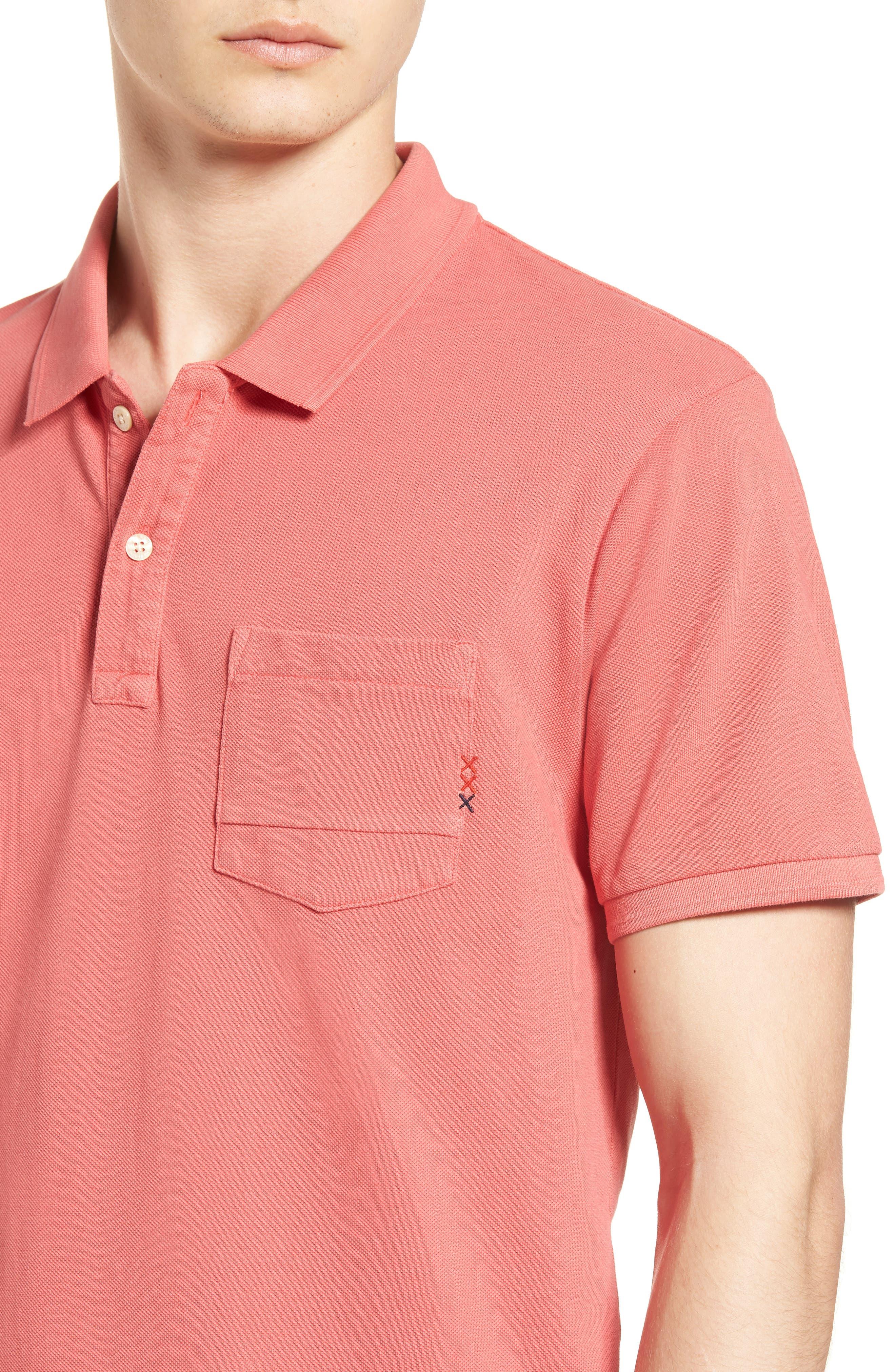 Garment Dyed Polo,                             Alternate thumbnail 4, color,                             600
