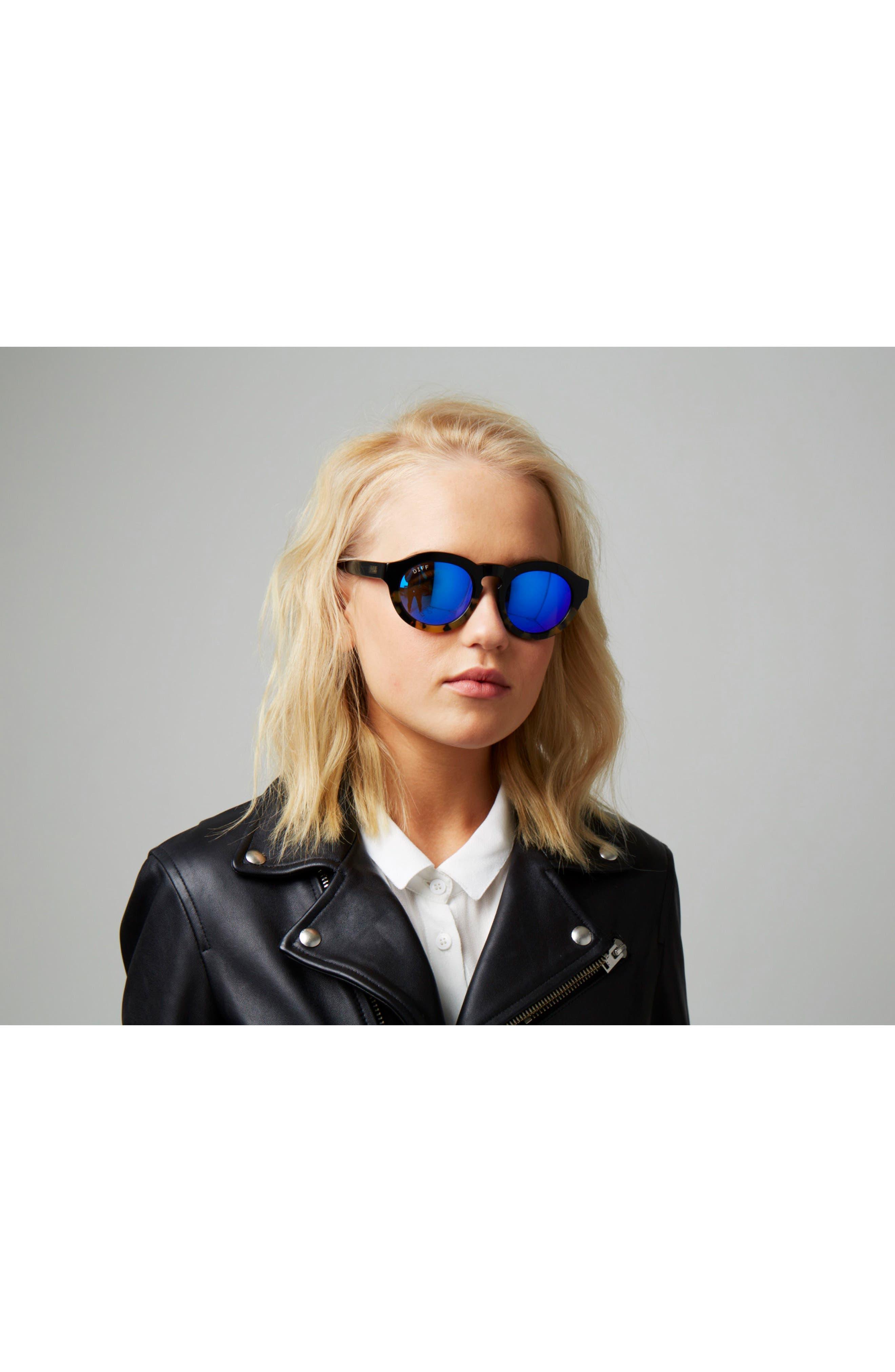Dime 48mm Retro Sunglasses,                             Alternate thumbnail 32, color,