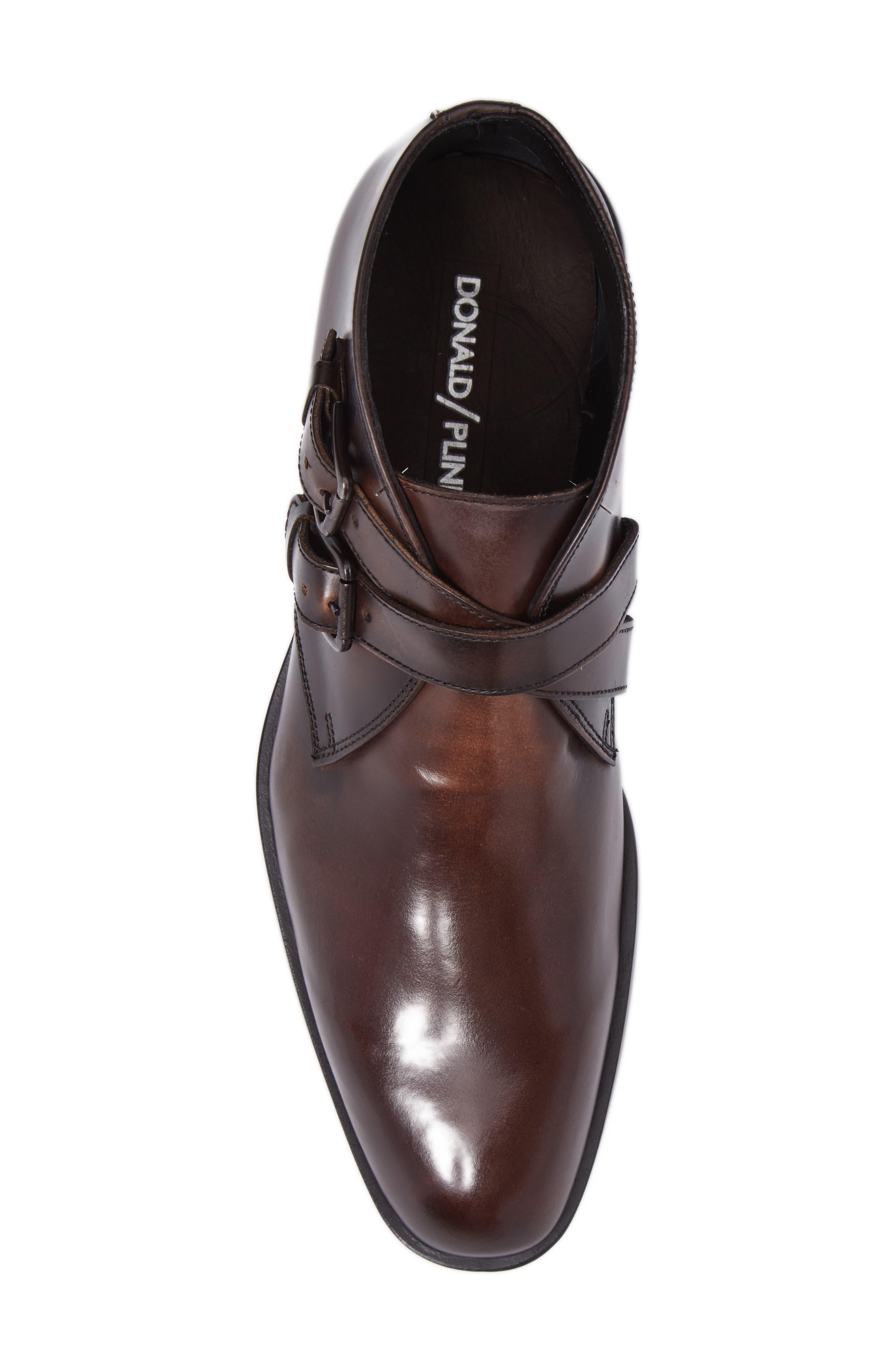 Donald J Pliner Zigor Double Monk Strap Boot,                             Alternate thumbnail 5, color,                             200