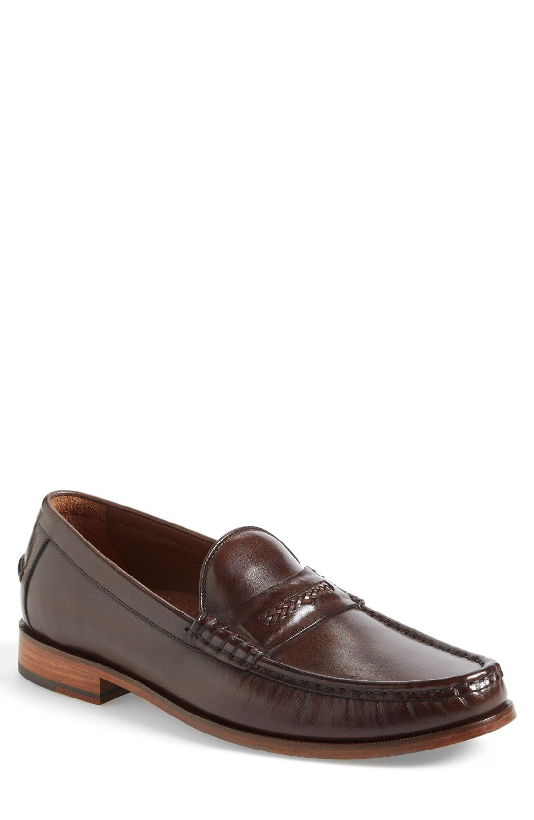 'Pinch Gotham' Penny Loafer,                             Main thumbnail 2, color,