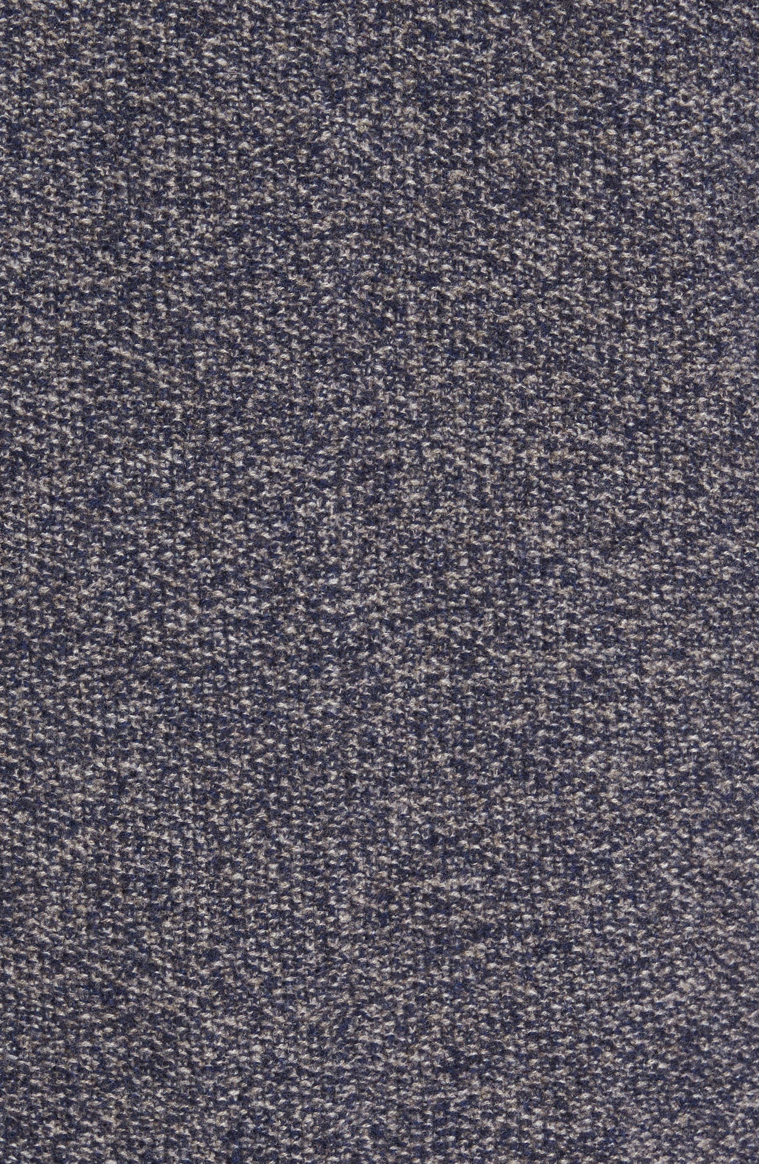 Deconstructed Merino & Yak Wool Sweater Jacket,                             Alternate thumbnail 6, color,                             416