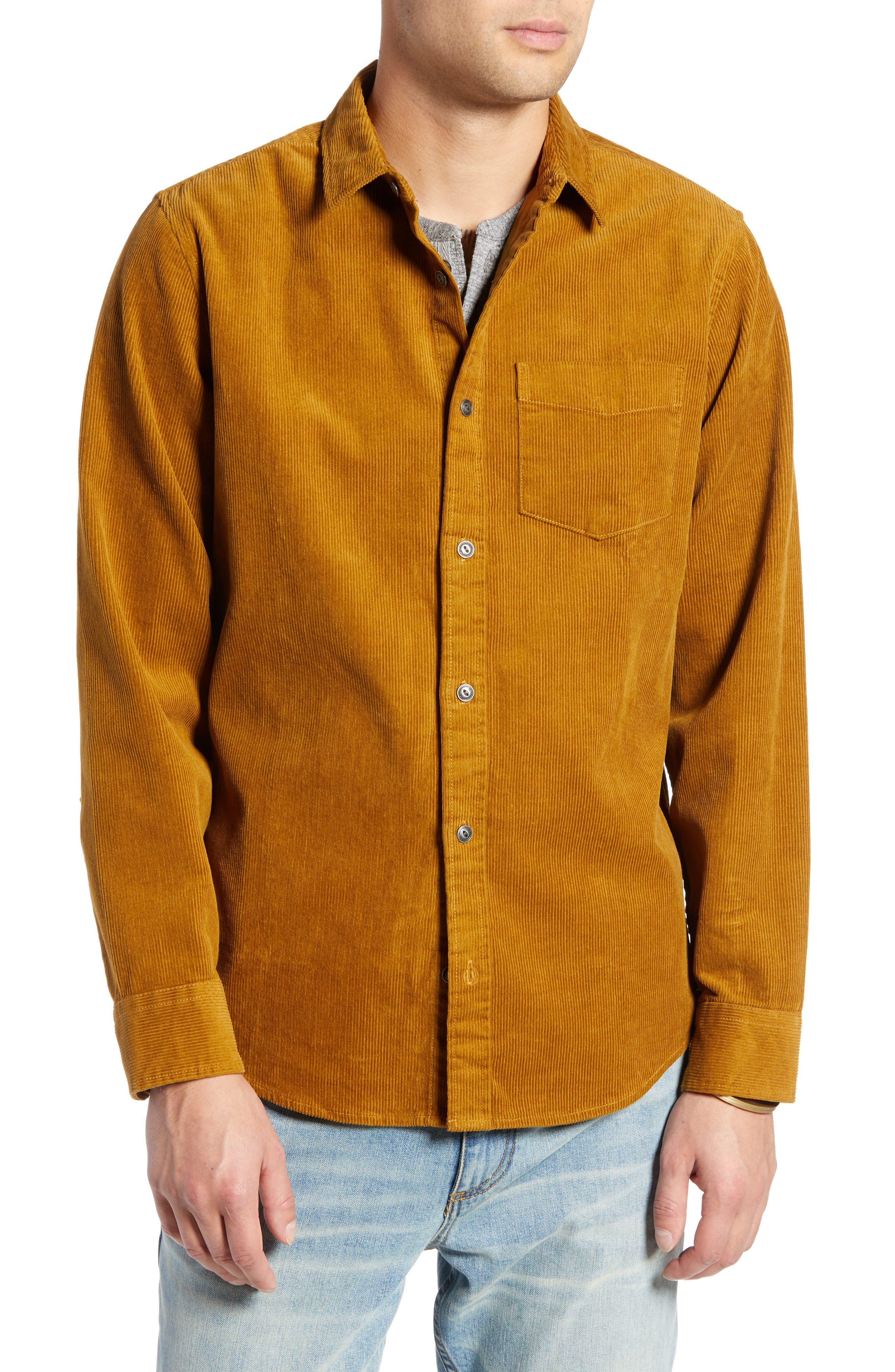 Regular Fit Corduroy Shirt Jacket,                             Alternate thumbnail 2, color,                             BROWN BRONZE