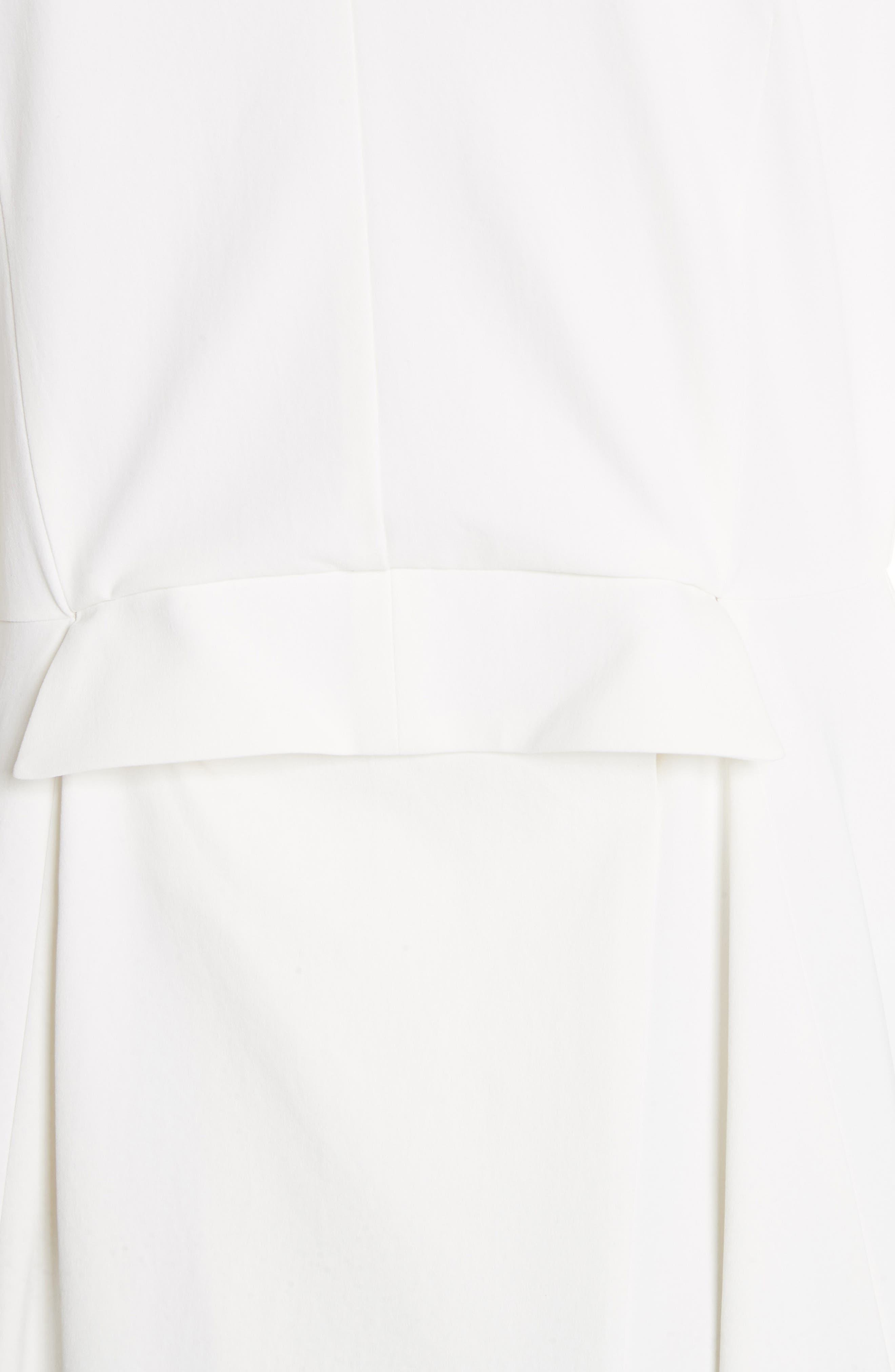 Beaded Keyhole Dress,                             Alternate thumbnail 7, color,                             100