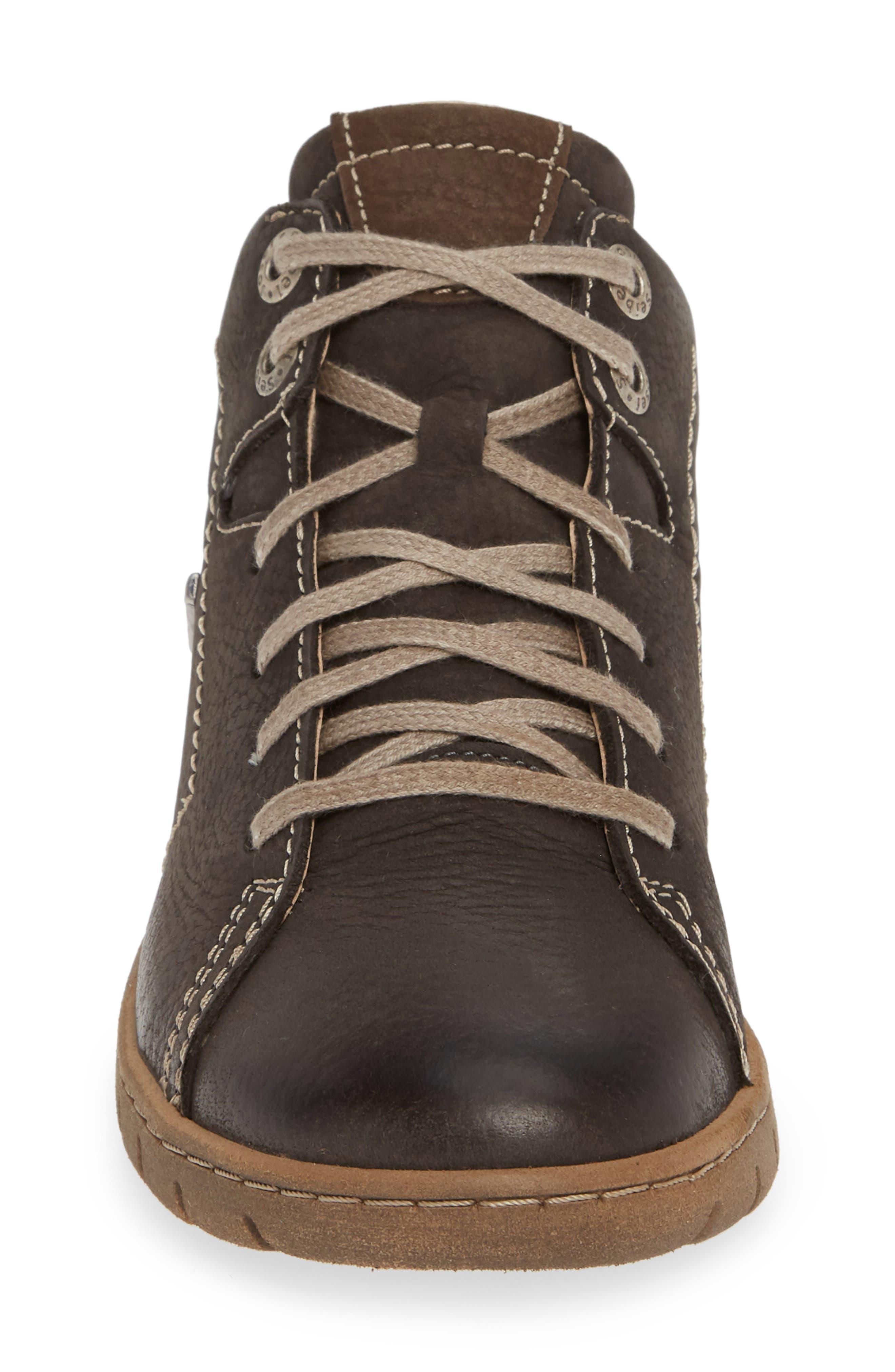 Steffi 58 Sneaker Bootie,                             Alternate thumbnail 4, color,                             TITAN LEATHER