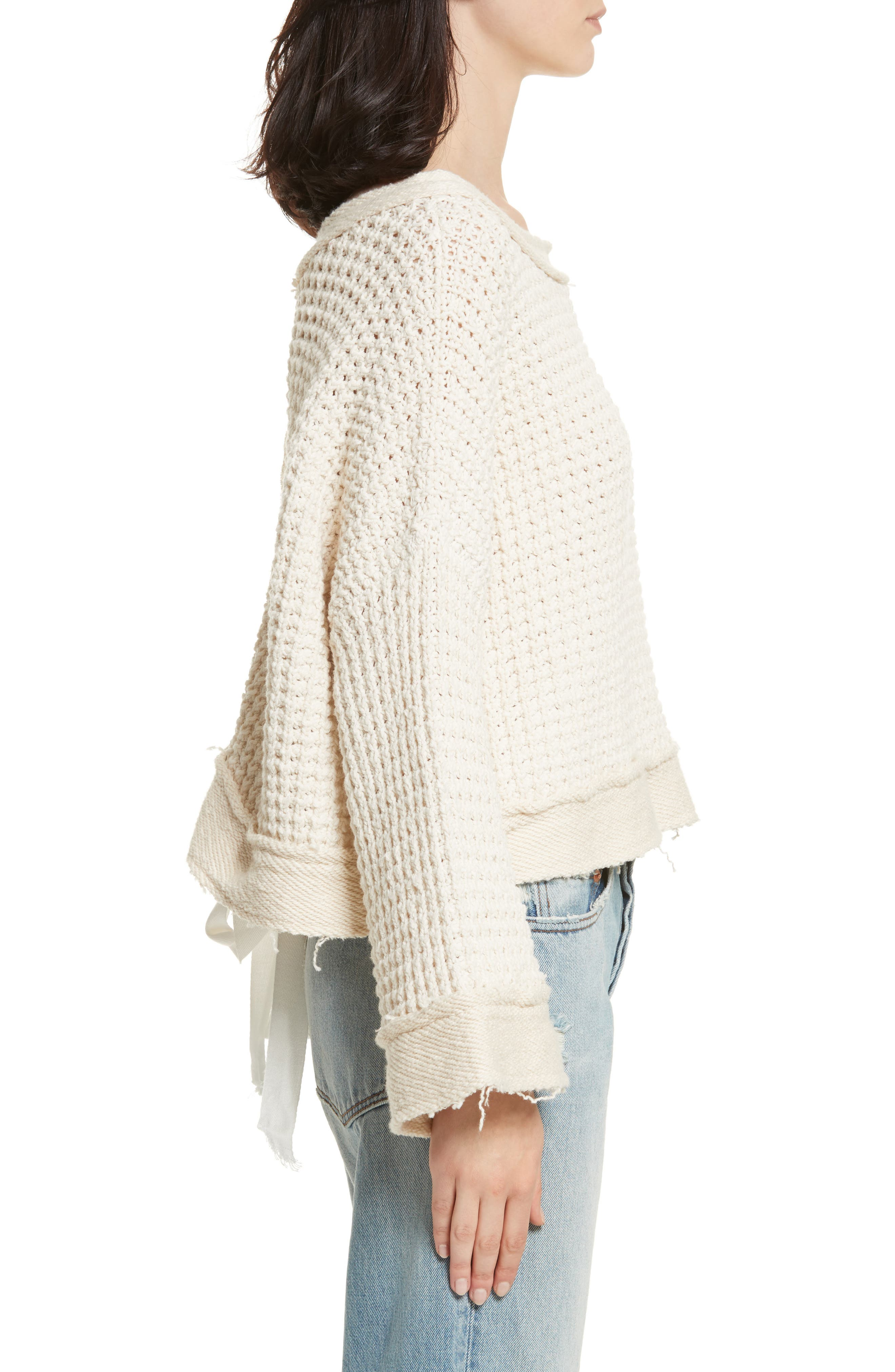 Maybe Baby Bell Sleeve Sweater,                             Alternate thumbnail 6, color,