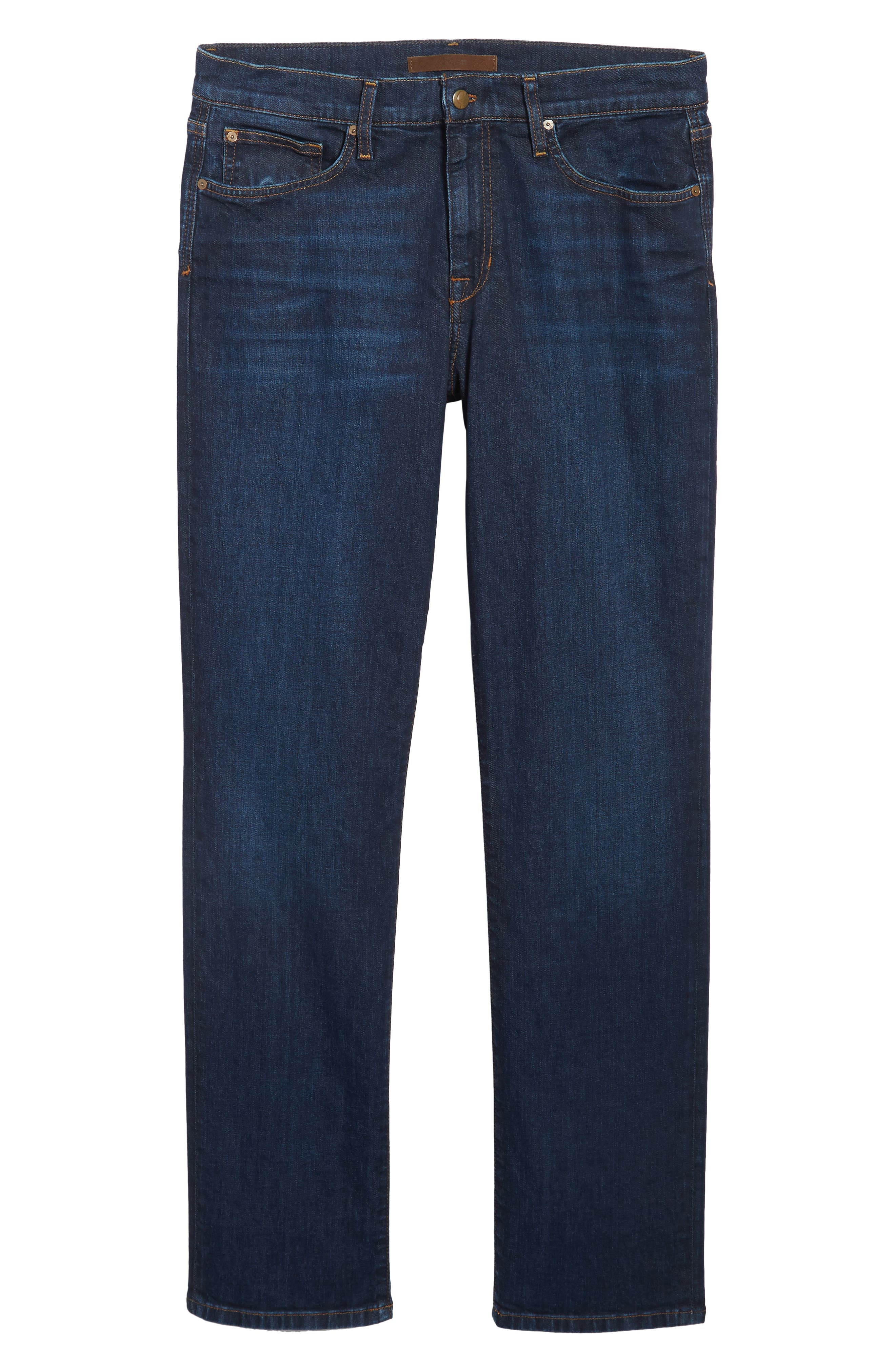 Classic Straight Fit Jeans,                             Alternate thumbnail 6, color,                             402