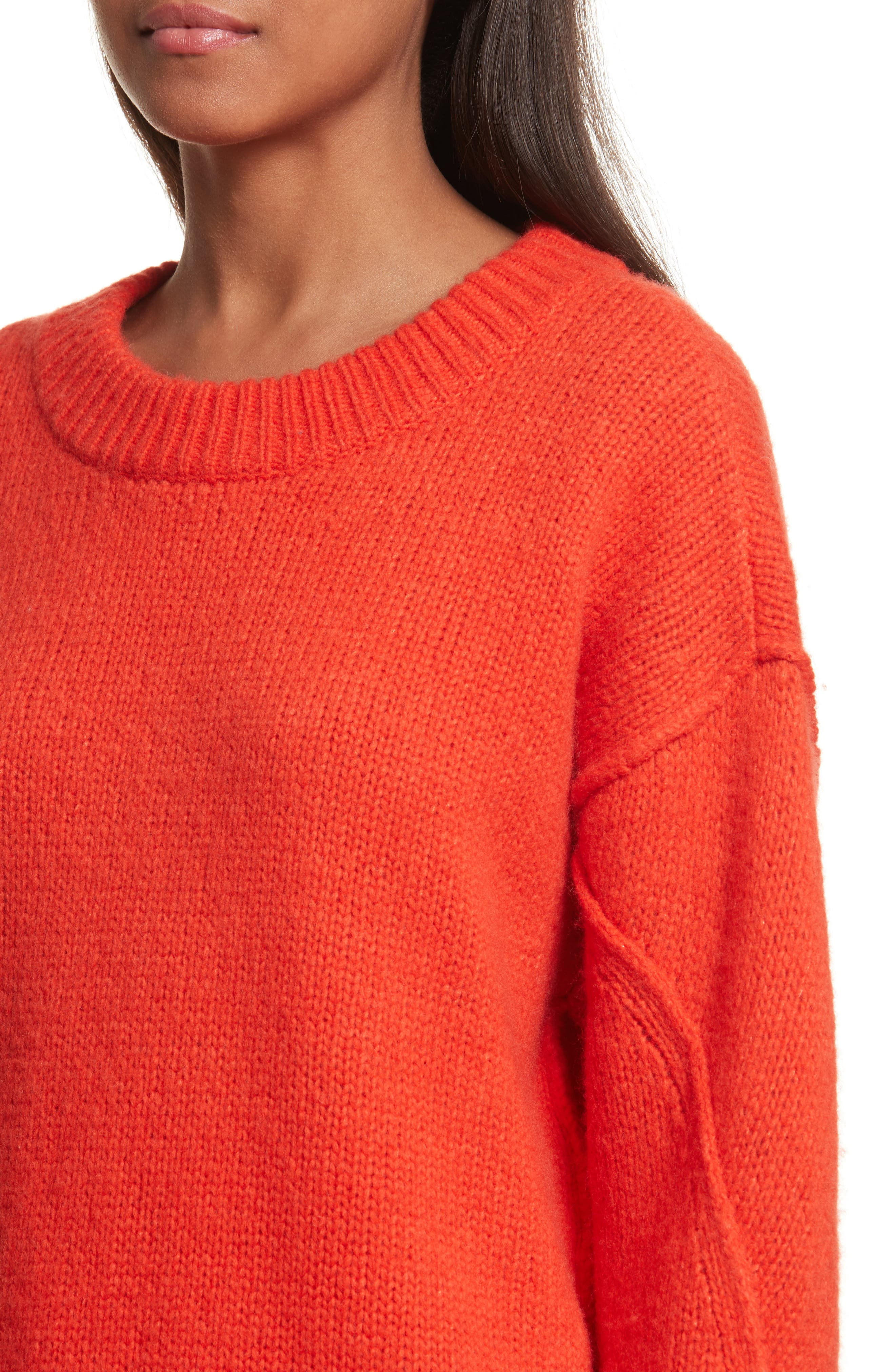 Eva Sweater with Removable Turtleneck,                             Alternate thumbnail 11, color,
