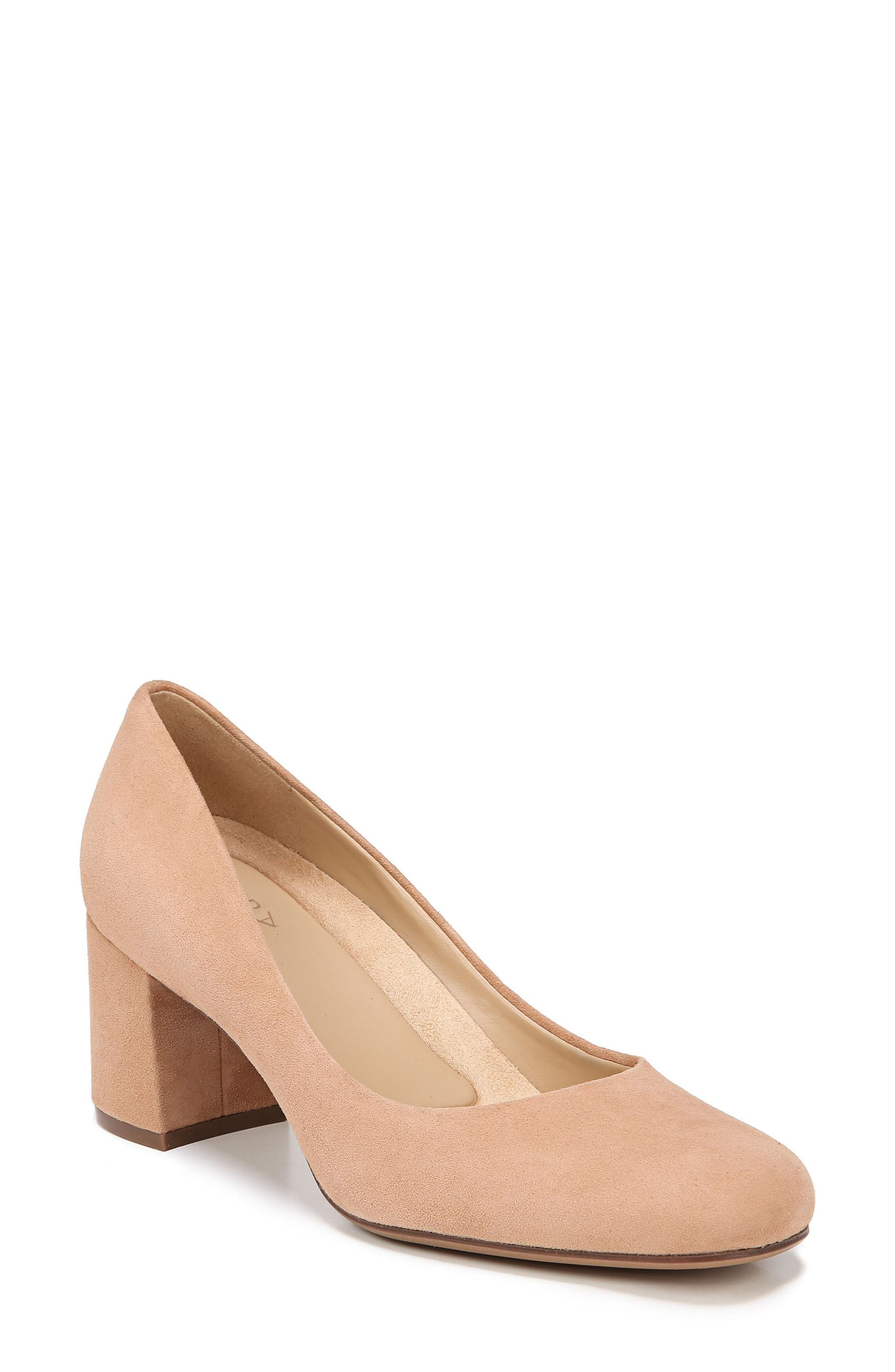 Whitney Pump,                         Main,                         color, COOKIE DOUGH SUEDE