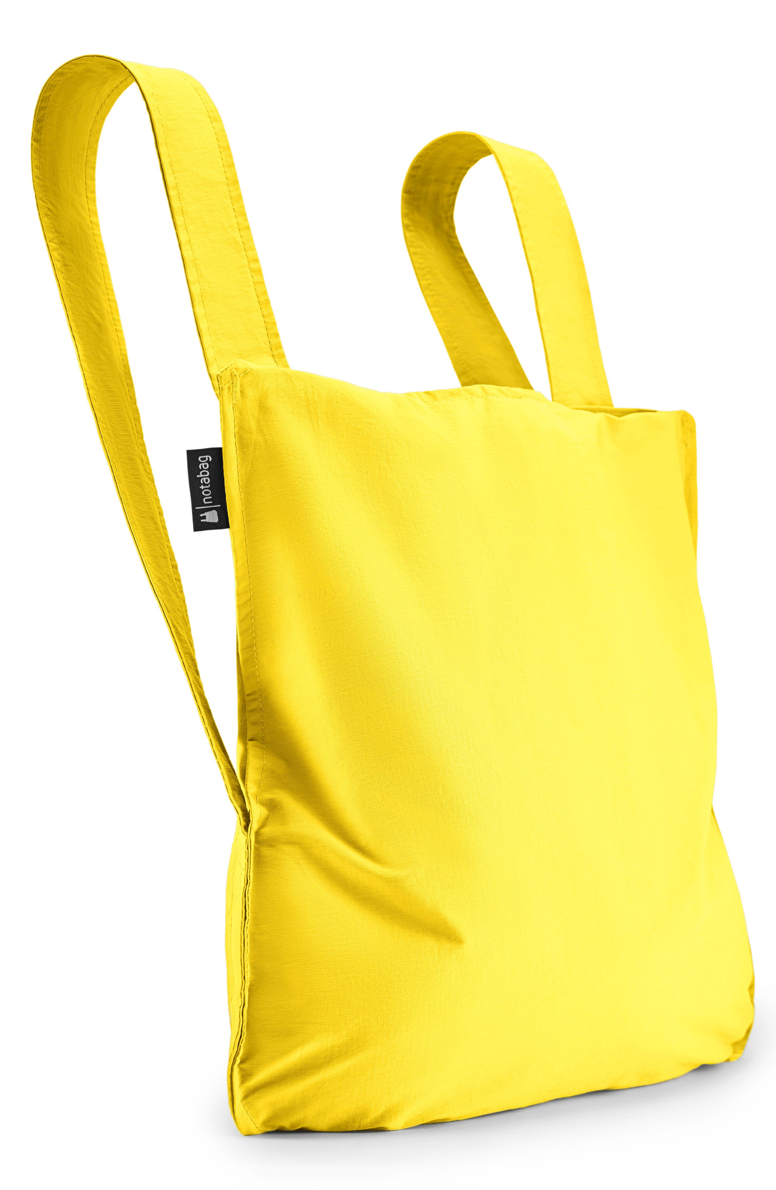 Convertible Tote Backpack,                         Main,                         color, YELLOW