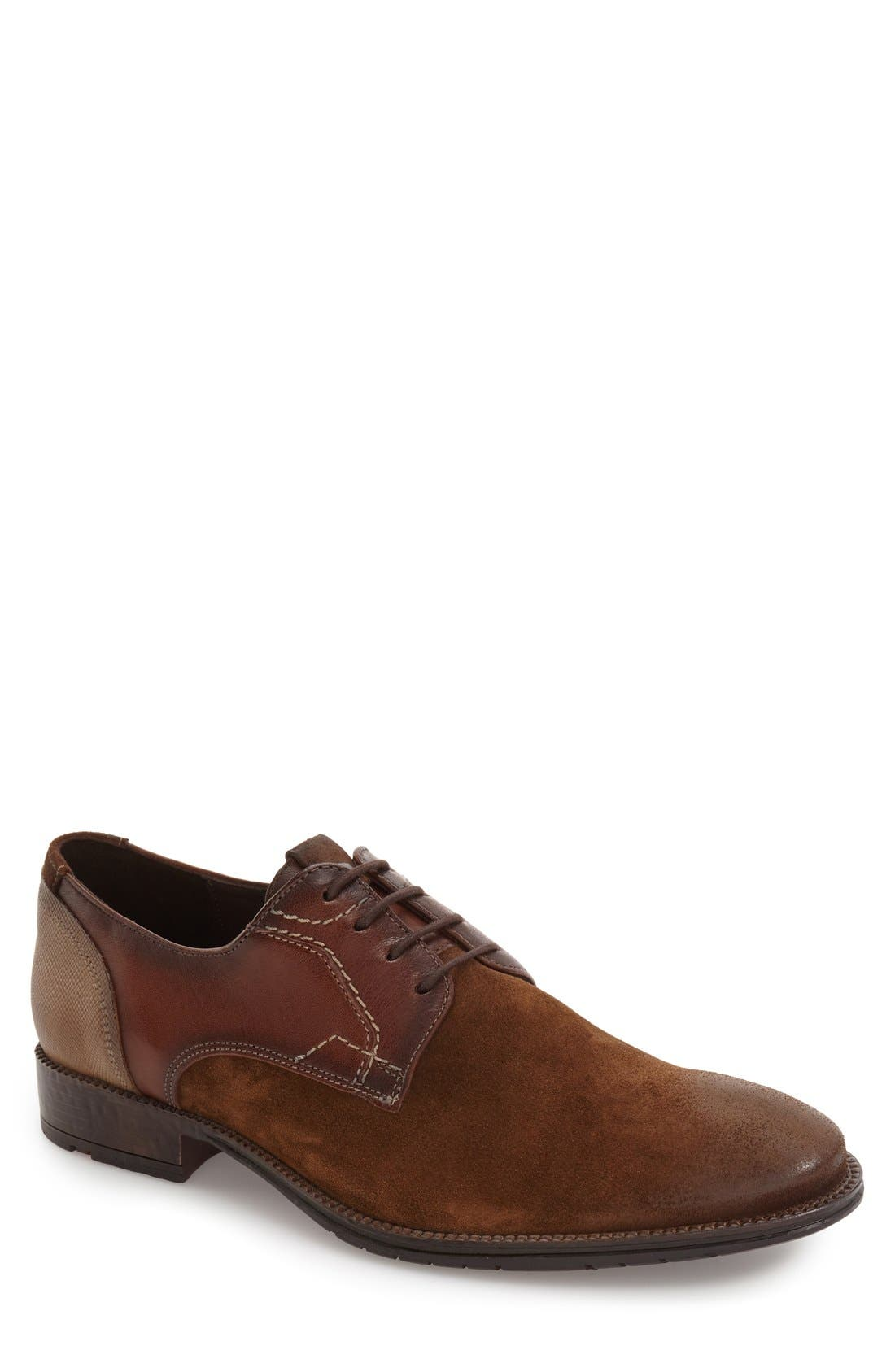 Derek Plain Toe Derby,                             Main thumbnail 1, color,                             219