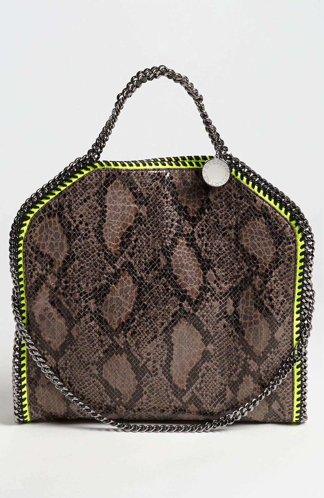 'Falabella' Faux Python Handbag,                             Alternate thumbnail 2, color,                             020