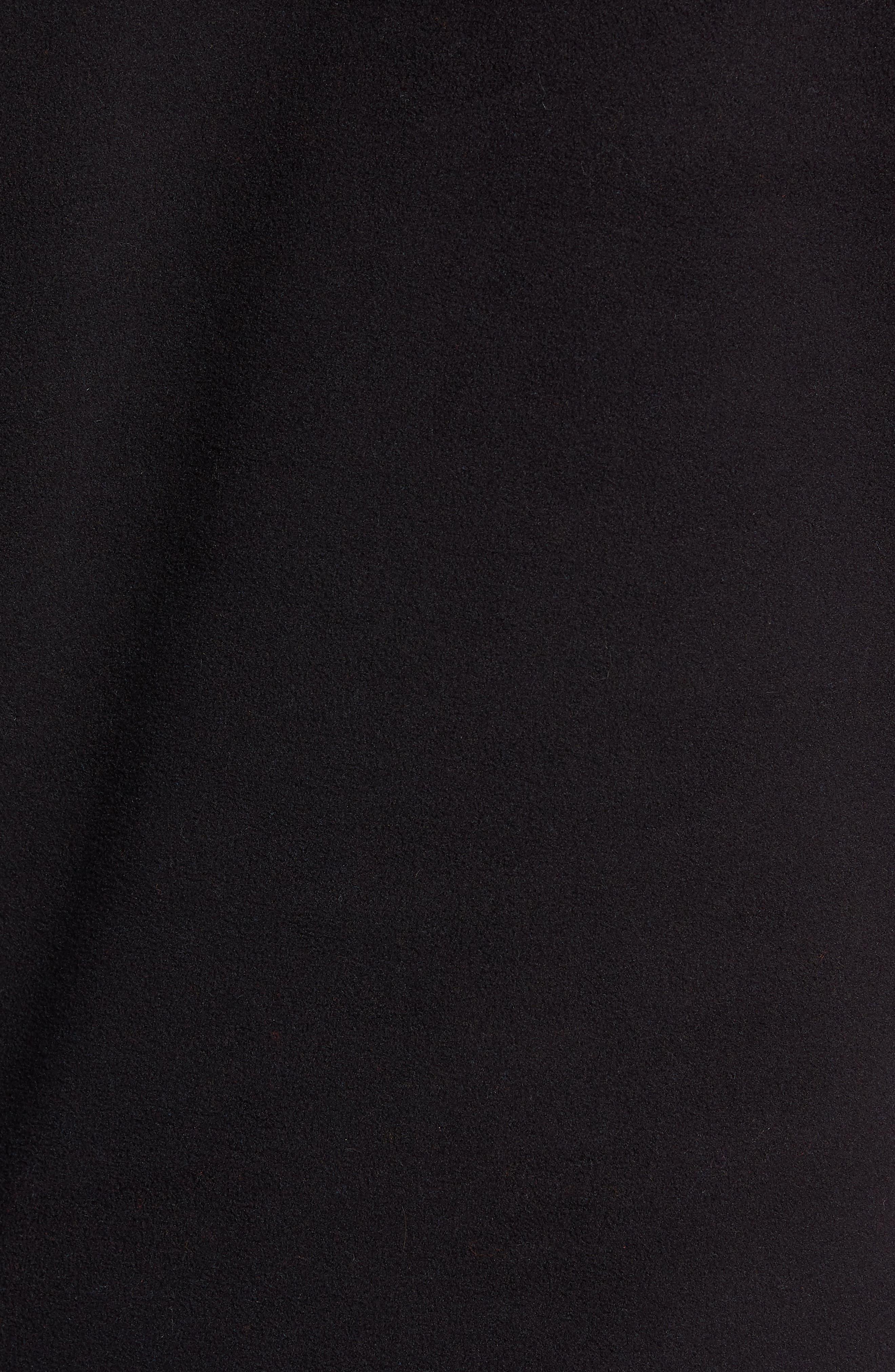 Mountain Fleece Pullover,                             Alternate thumbnail 5, color,                             BLACK