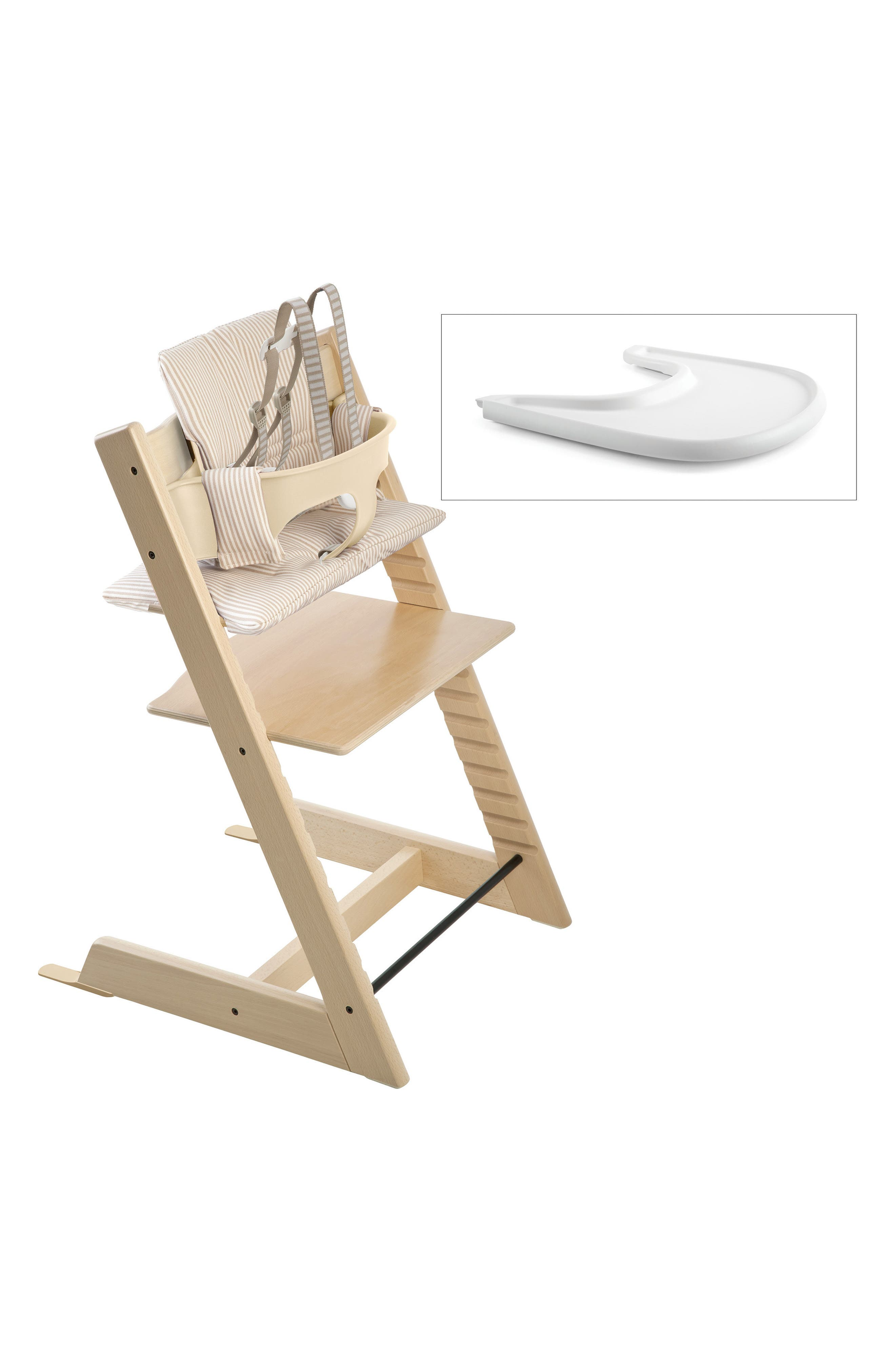 'Tripp Trapp<sup>®</sup>' Chair, Baby Set, Cushion & Tray Set,                         Main,                         color, 200