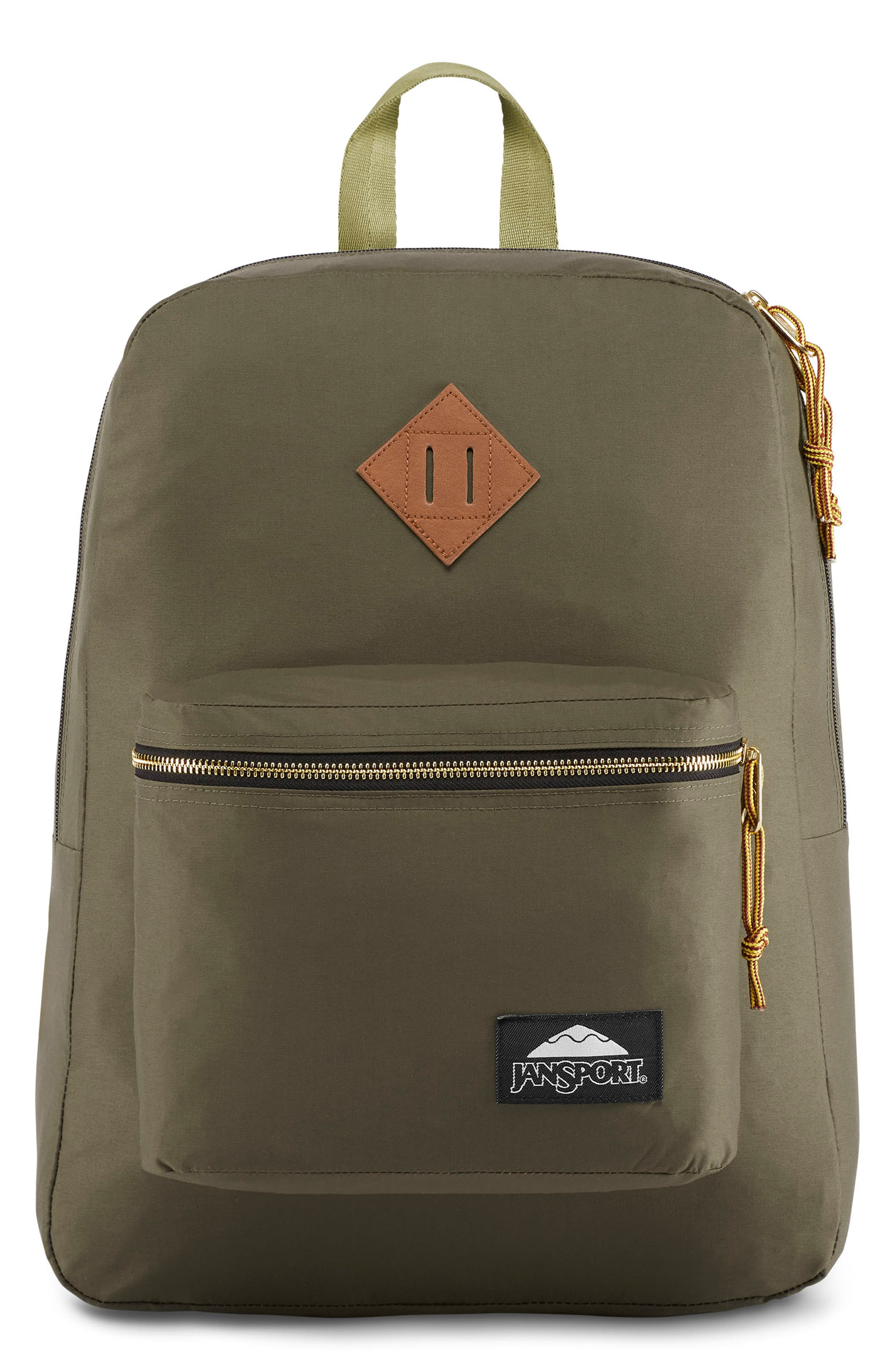 JANSPORT Standard Issue Super Fx Backpack - Green in Alpha Green