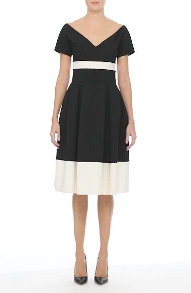 Colorblock Cap Sleeve Dress, video thumbnail