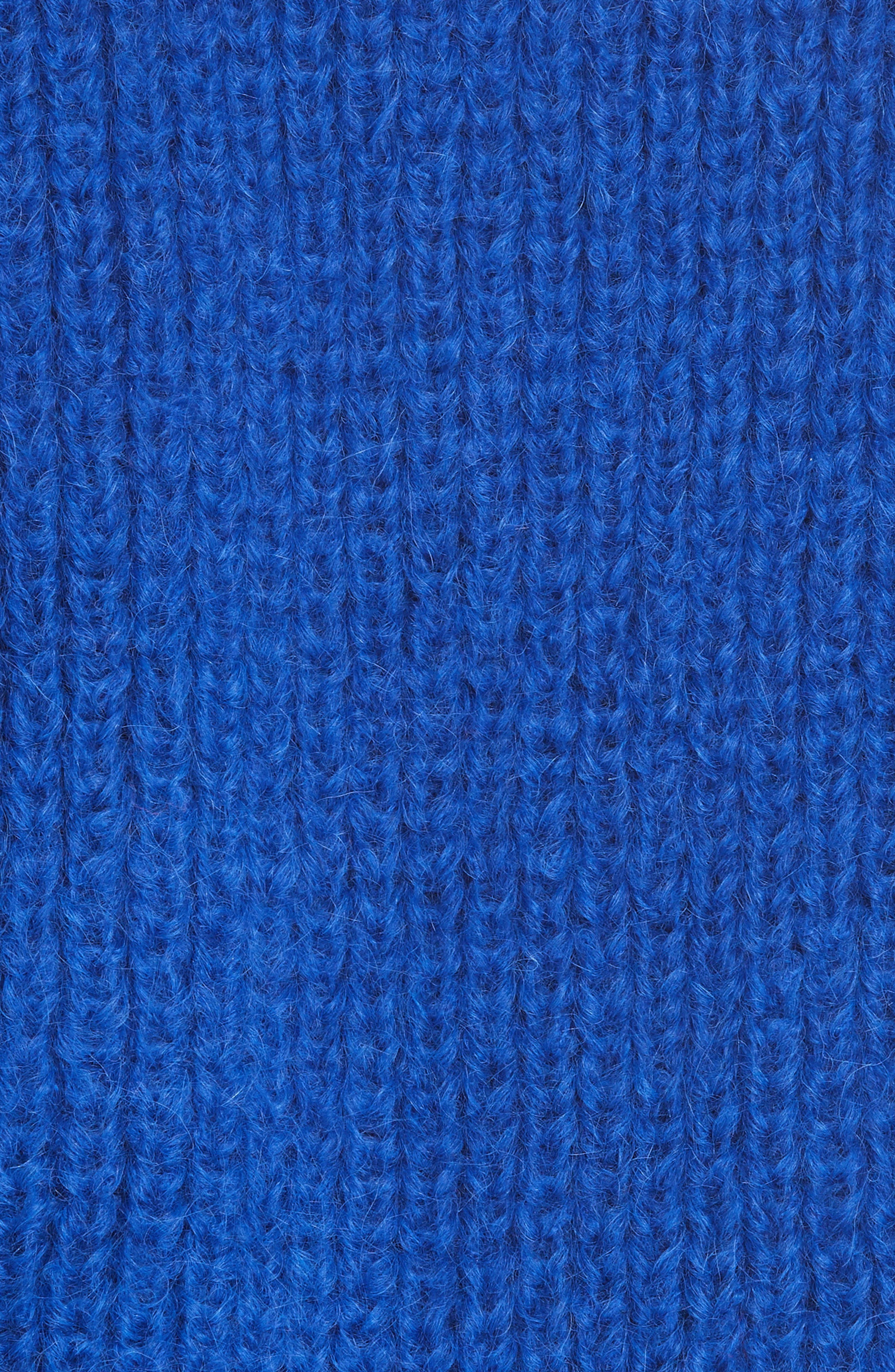 ELEVEN SIX,                             Tess Alpaca & Wool Blend Sweater,                             Alternate thumbnail 5, color,                             COLBOLT BLUE