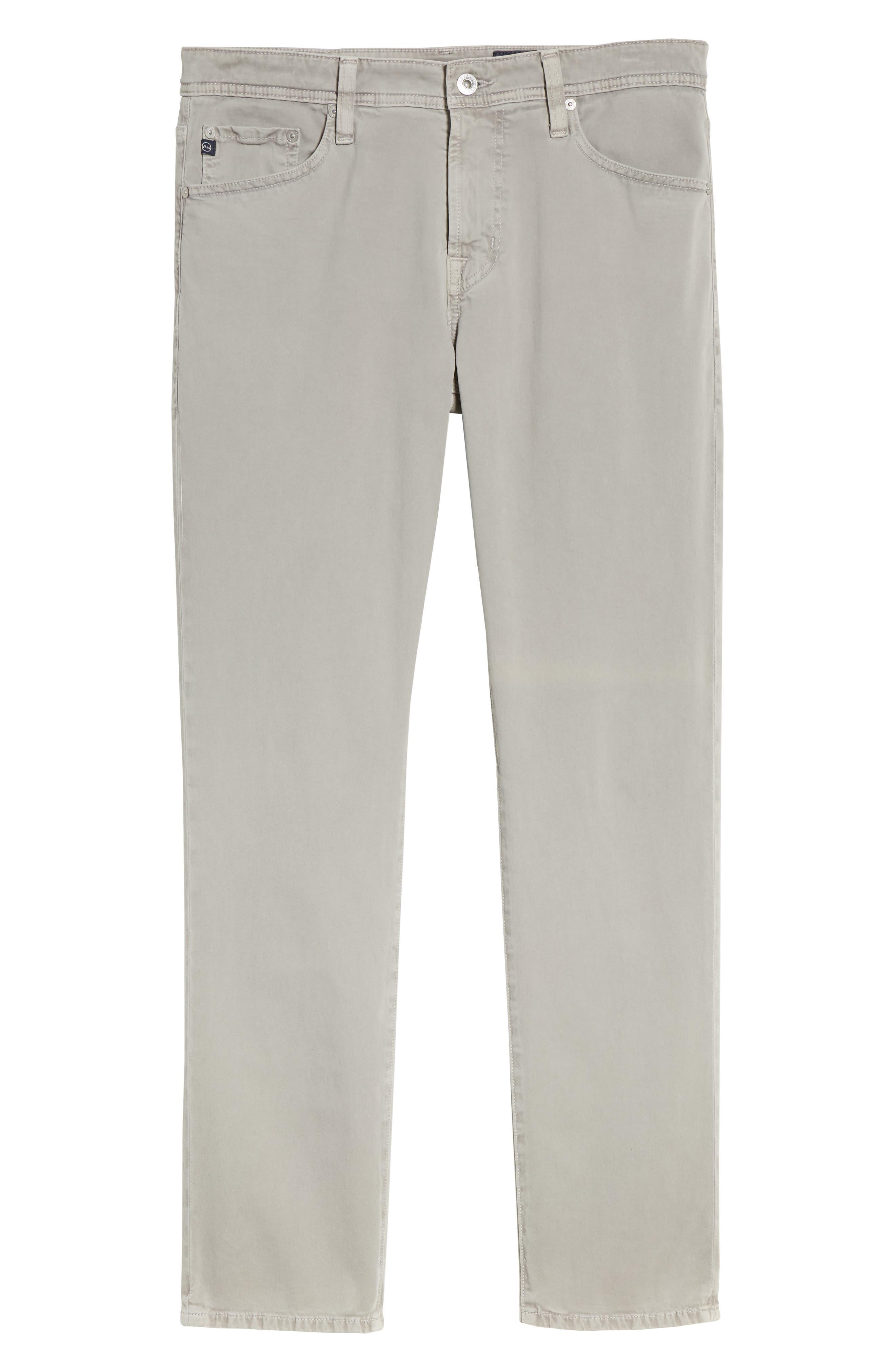 Everett SUD Slim Straight Fit Pants,                             Alternate thumbnail 6, color,                             SULFUR PLATINUM