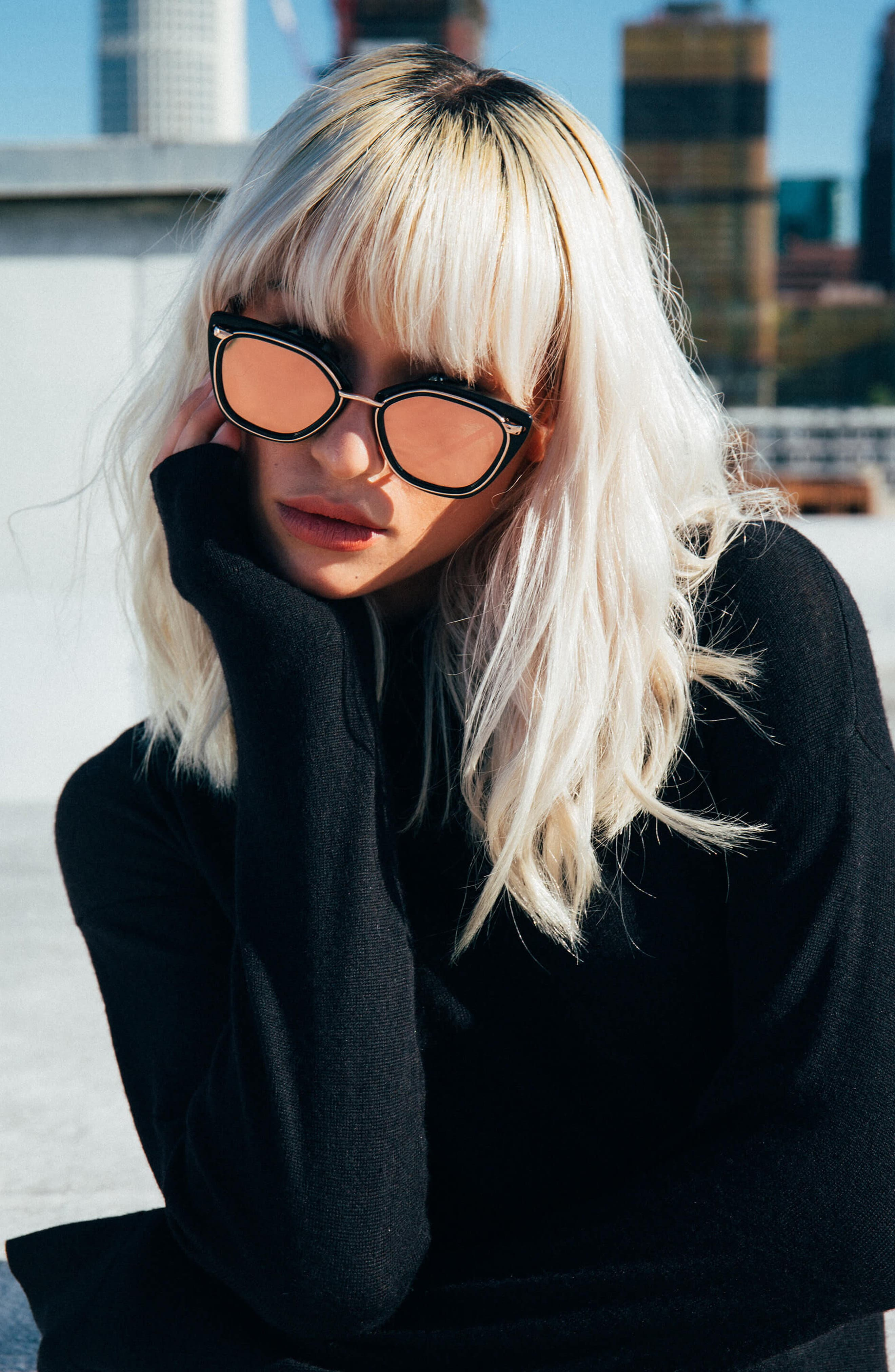 Temple 52mm Sunglasses,                             Alternate thumbnail 13, color,