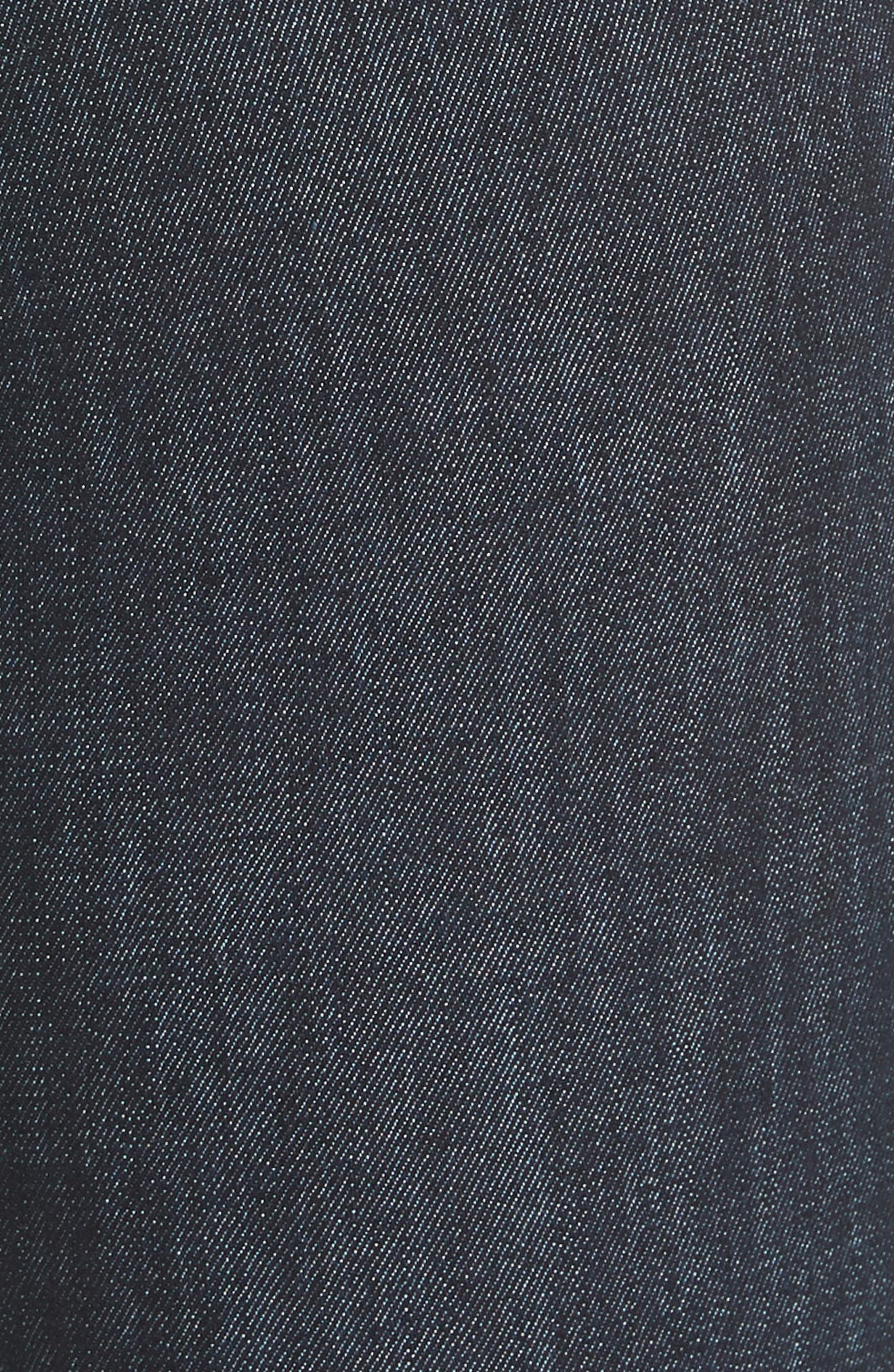 High Waist Skinny Jeans,                             Alternate thumbnail 6, color,                             INDIGO
