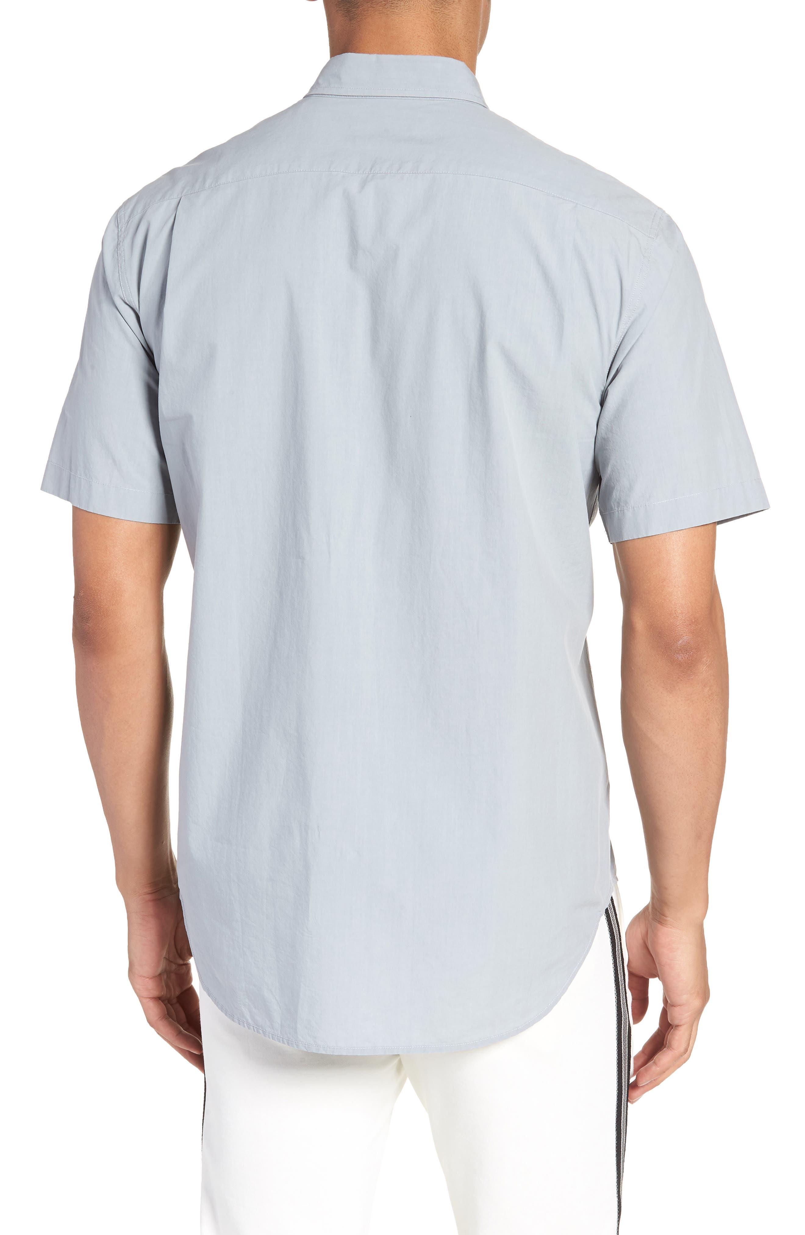 Slim Fit Sport Shirt,                             Alternate thumbnail 2, color,                             STORM