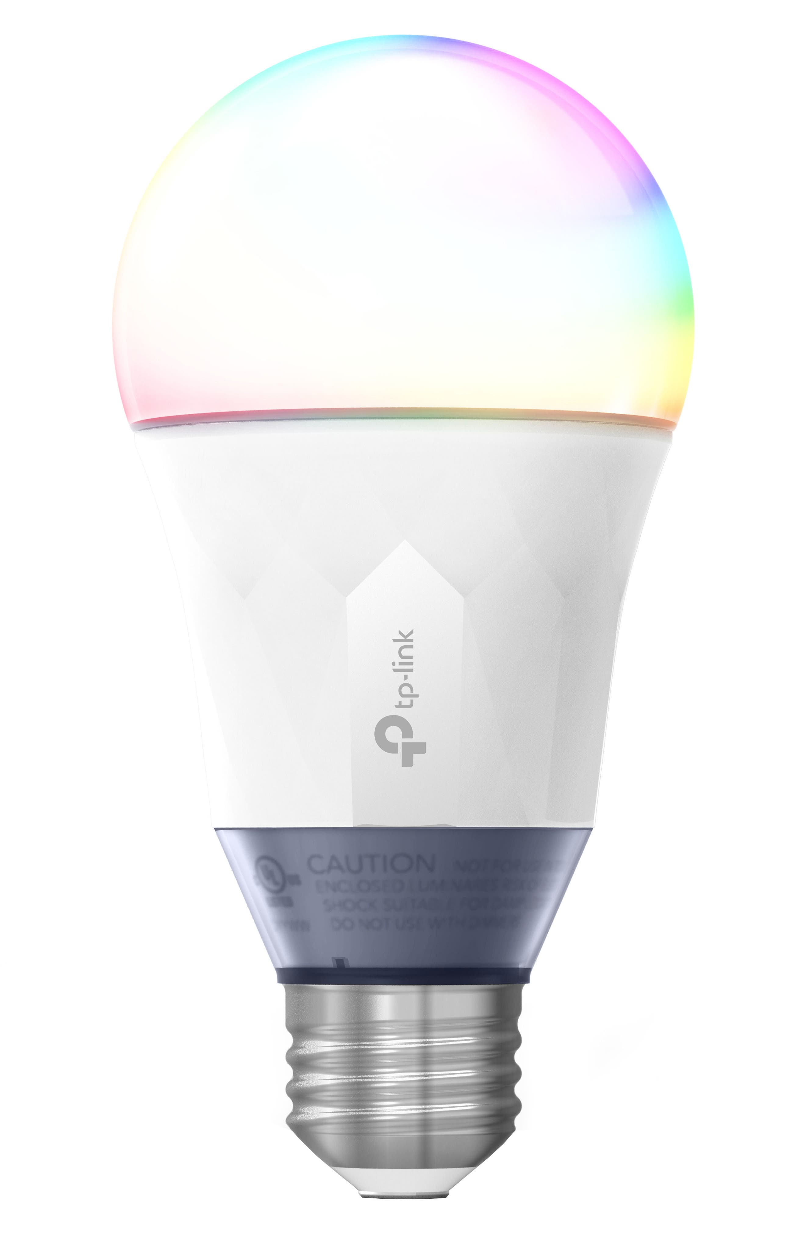 Smart Color LED Light Bulb,                             Main thumbnail 1, color,                             100