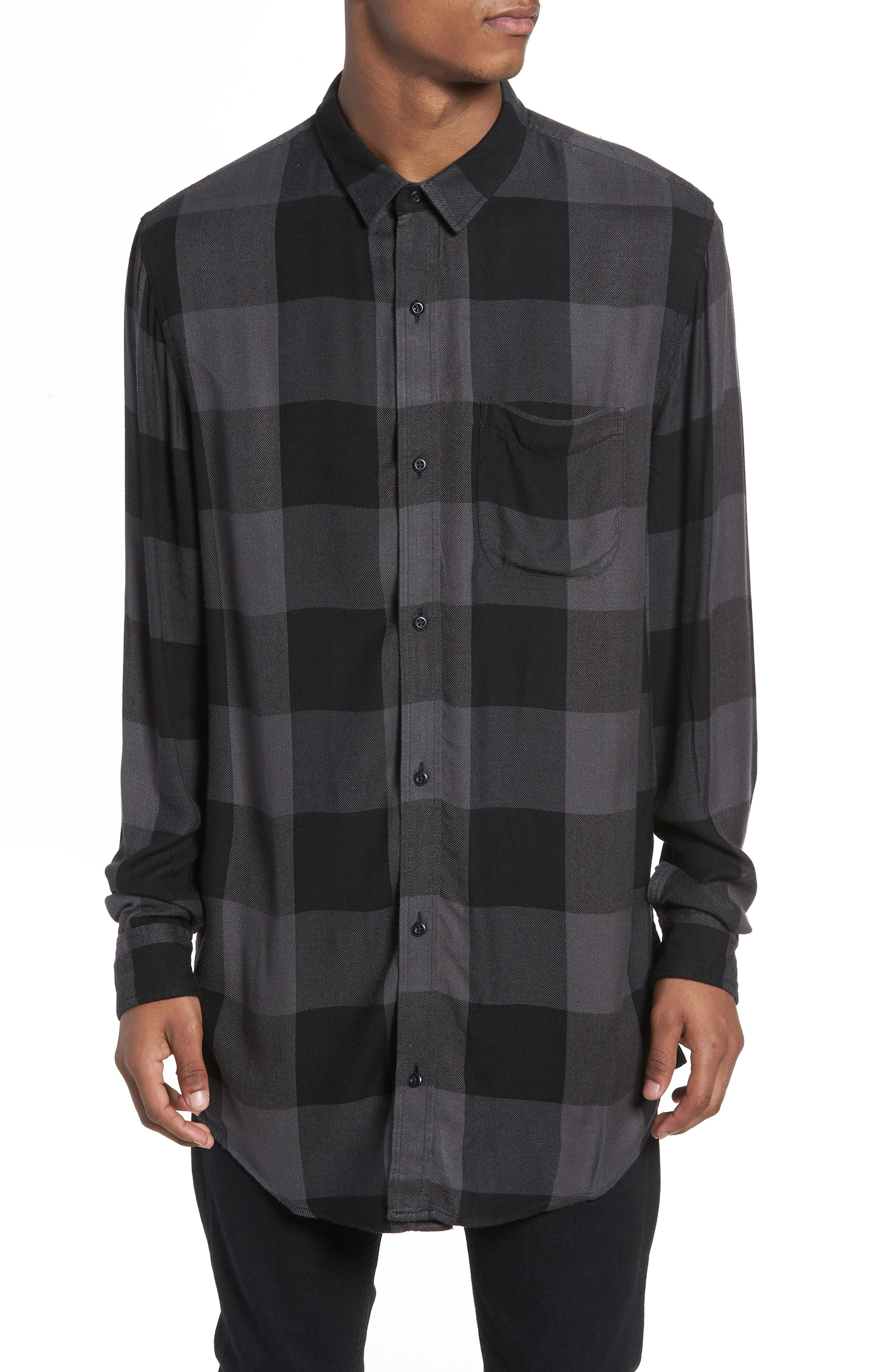 Yarn Dyed Plaid Shirt,                         Main,                         color,