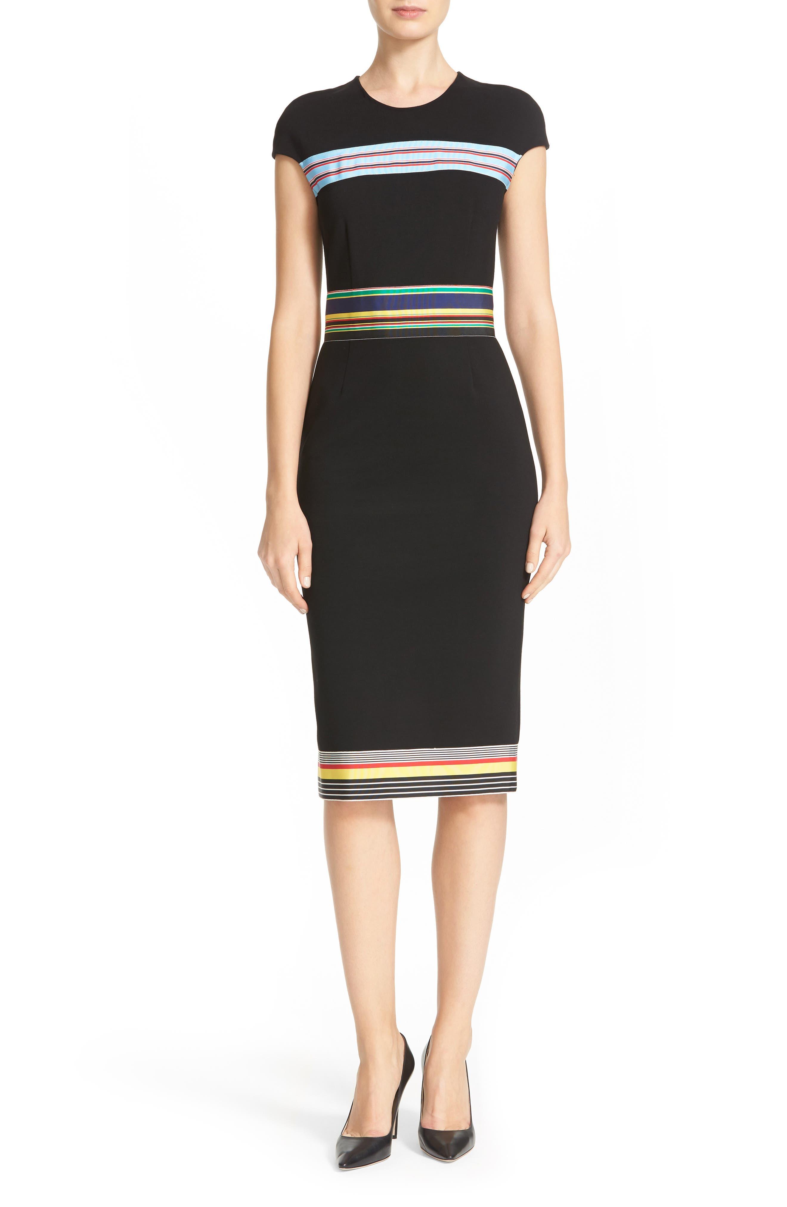 Hadlie Sheath Dress,                             Main thumbnail 1, color,                             001