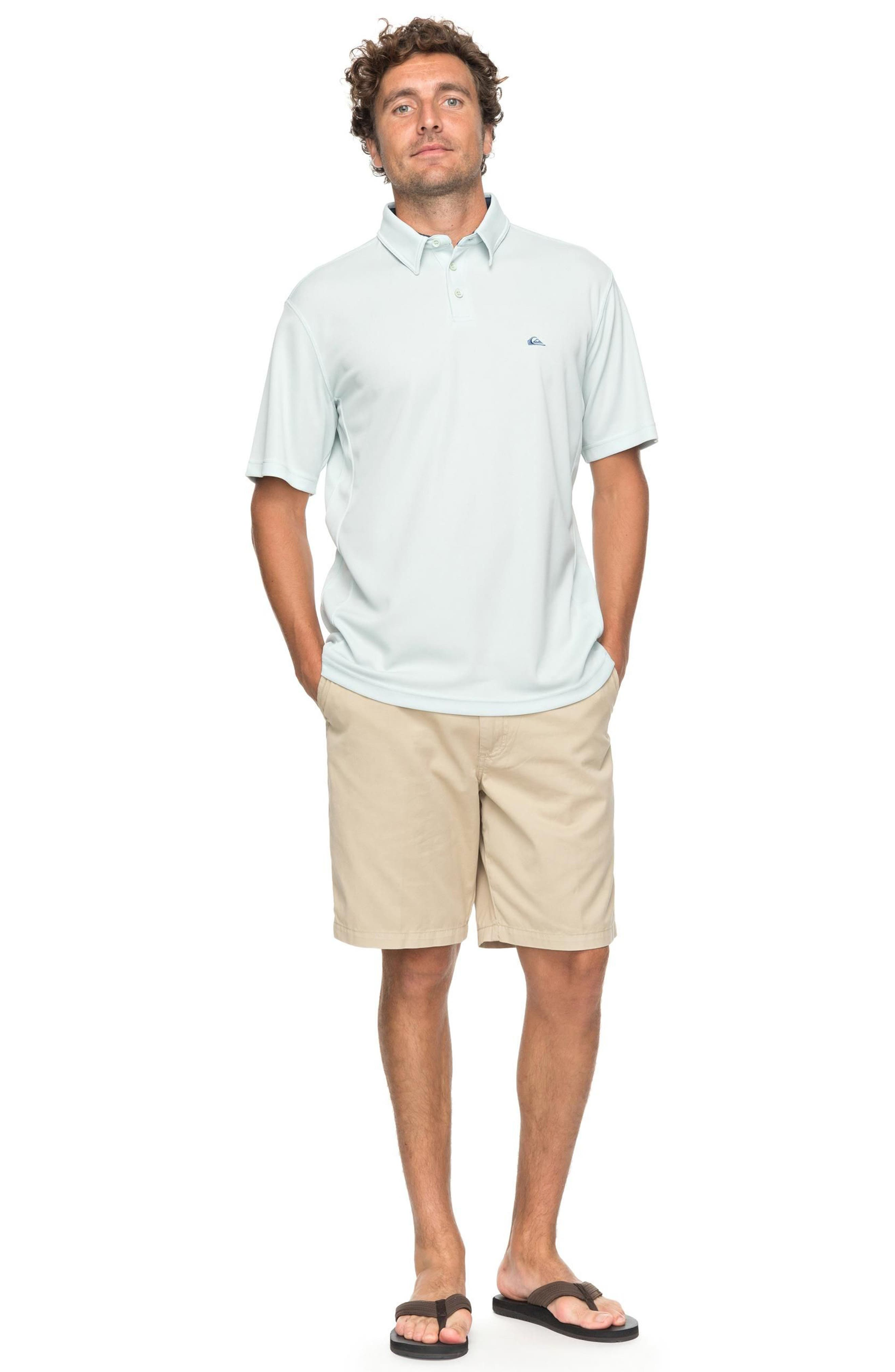 Water 2 Technical Polo Shirt,                             Alternate thumbnail 6, color,
