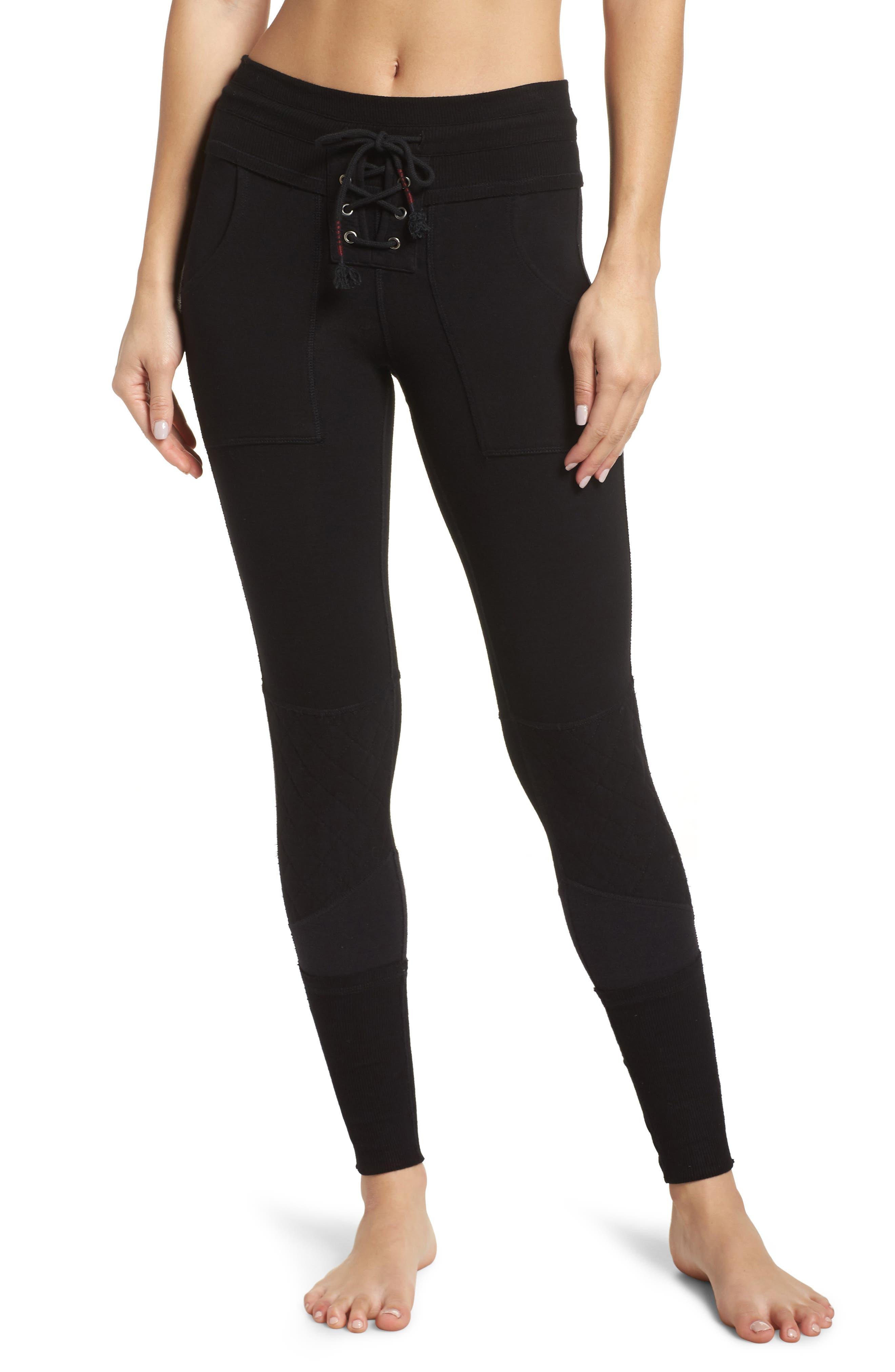 FP Movement Surya High Waist Leggings,                         Main,                         color, BLACK