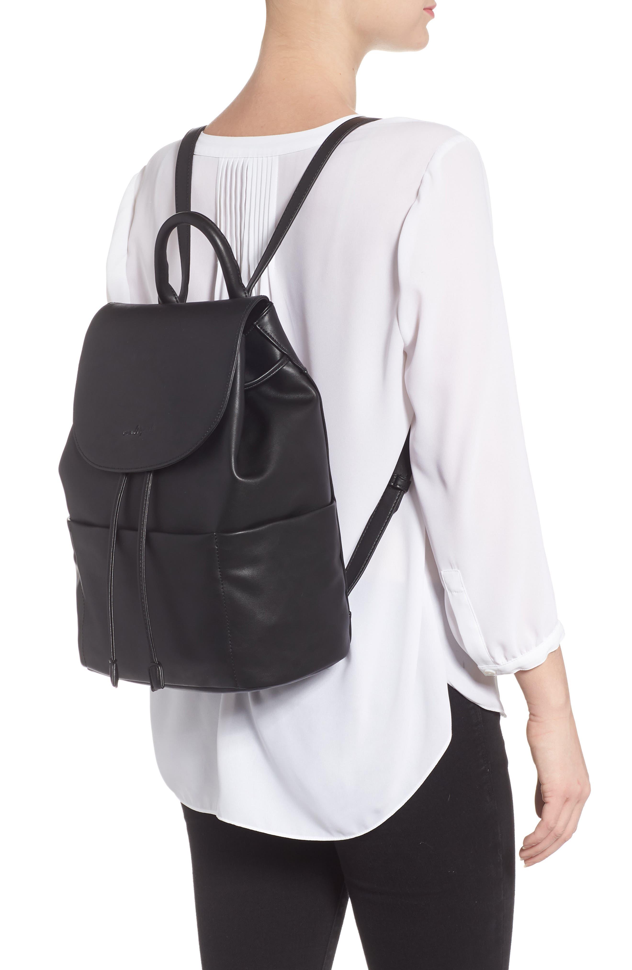 Splendour Vegan Leather Backpack,                             Alternate thumbnail 2, color,                             002