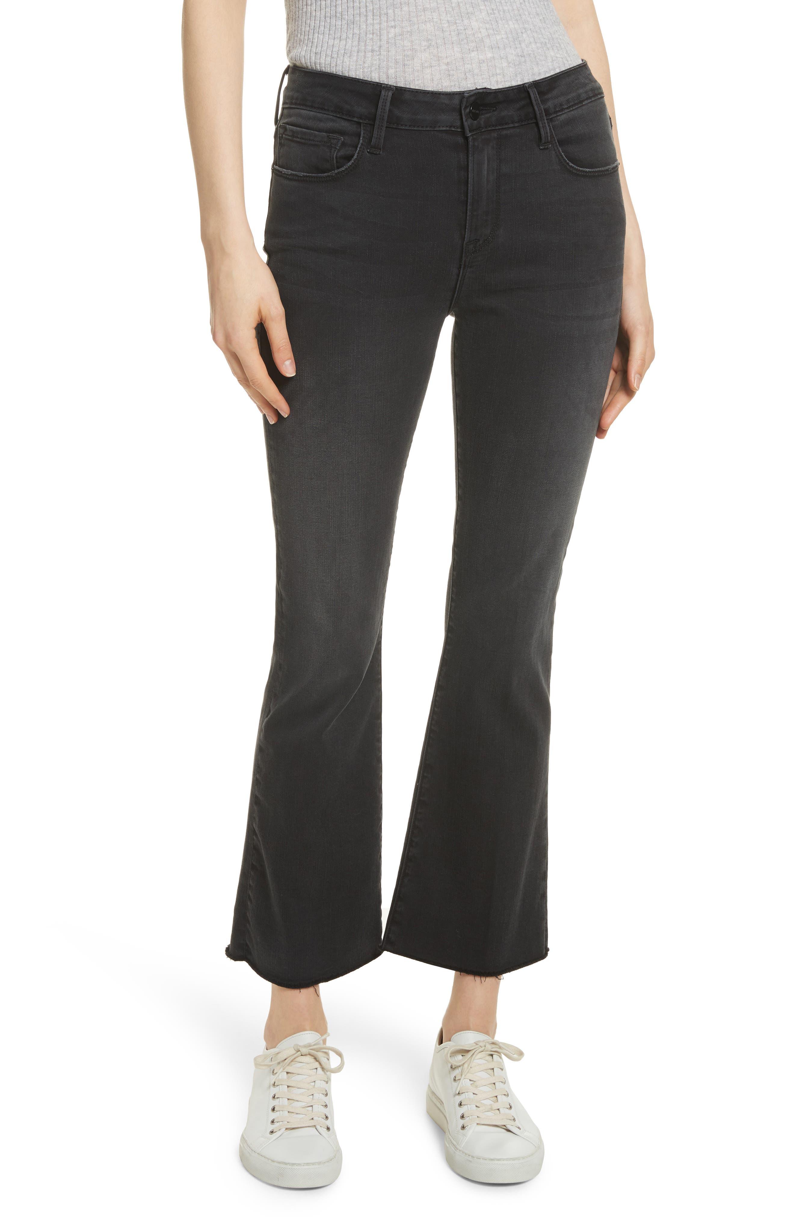 Le Crop Mini Boot Jeans,                             Main thumbnail 1, color,                             KERRY
