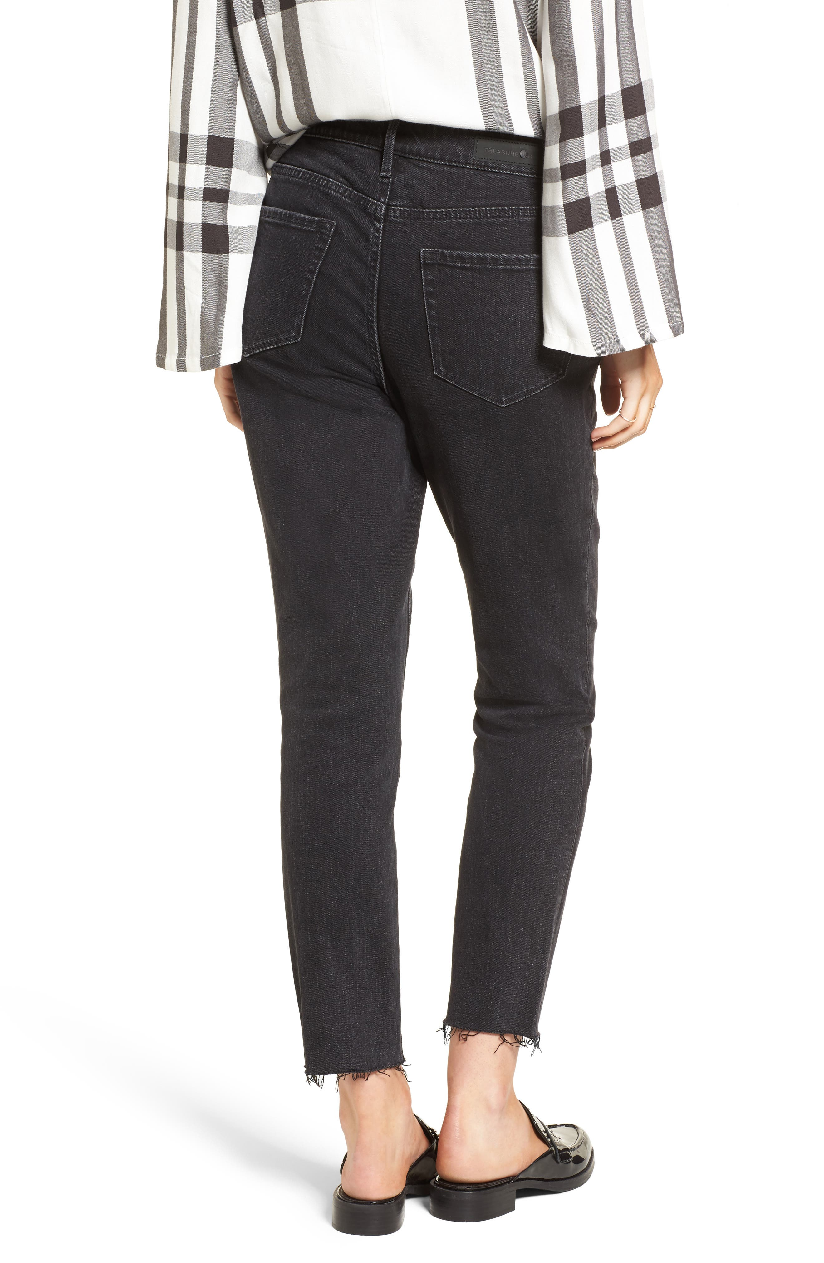 Bond Loose Fit Ankle Skinny Jeans,                             Alternate thumbnail 2, color,