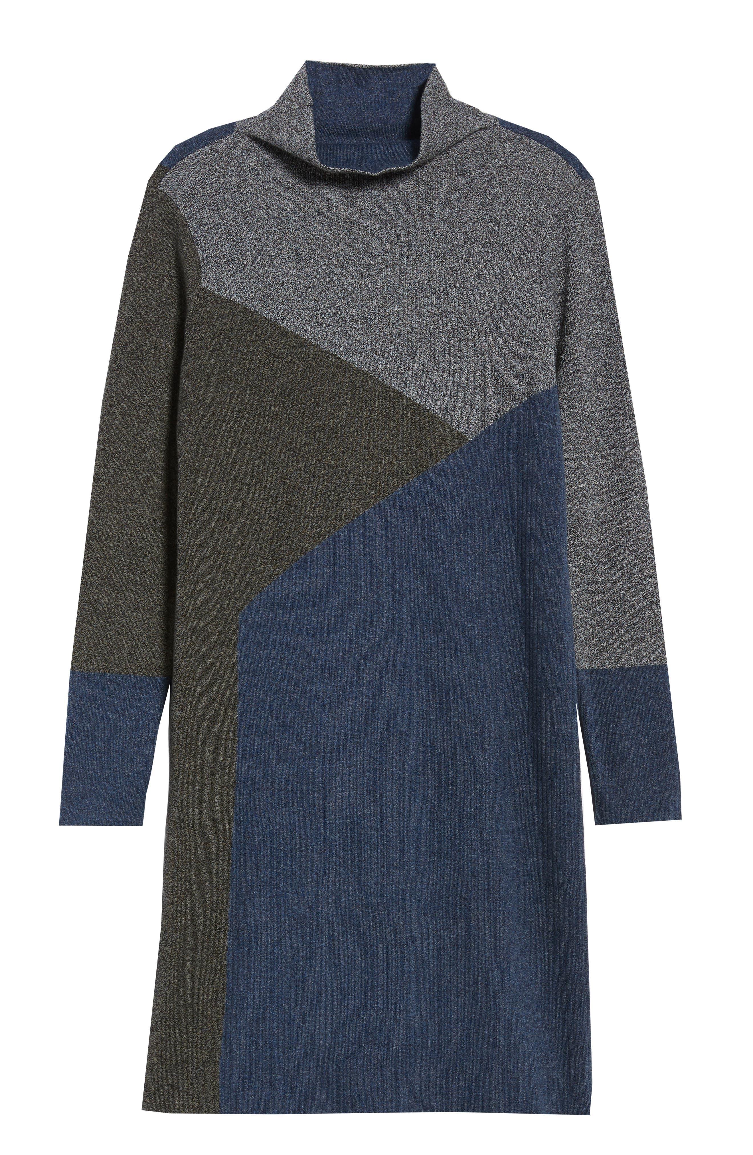 Laid Back Sweater Dress,                             Alternate thumbnail 7, color,                             090