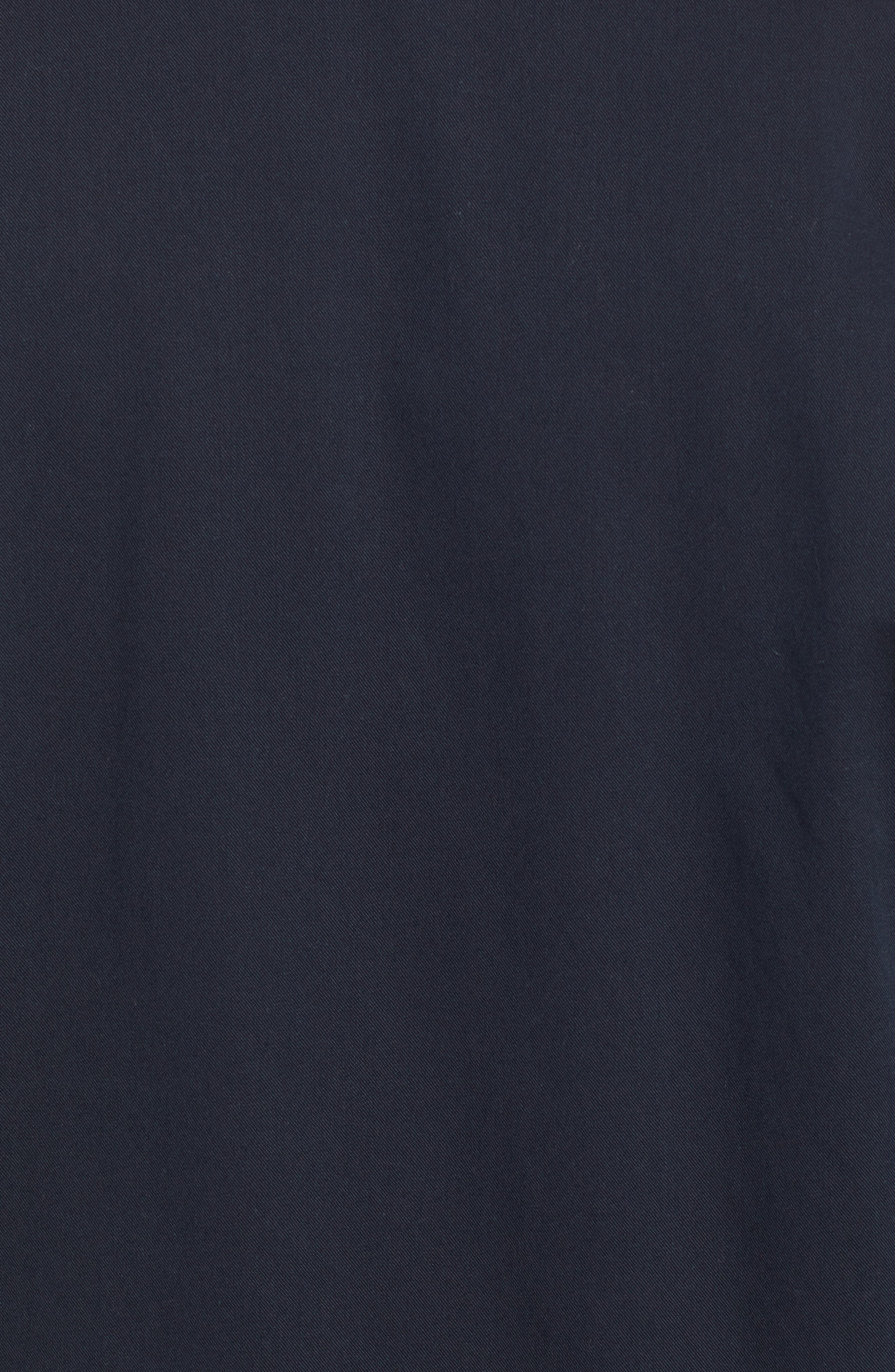 Axle Shop Regular Stretch Cotton Blend Jacket,                             Alternate thumbnail 7, color,                             BLUE VAULT/ BLACK