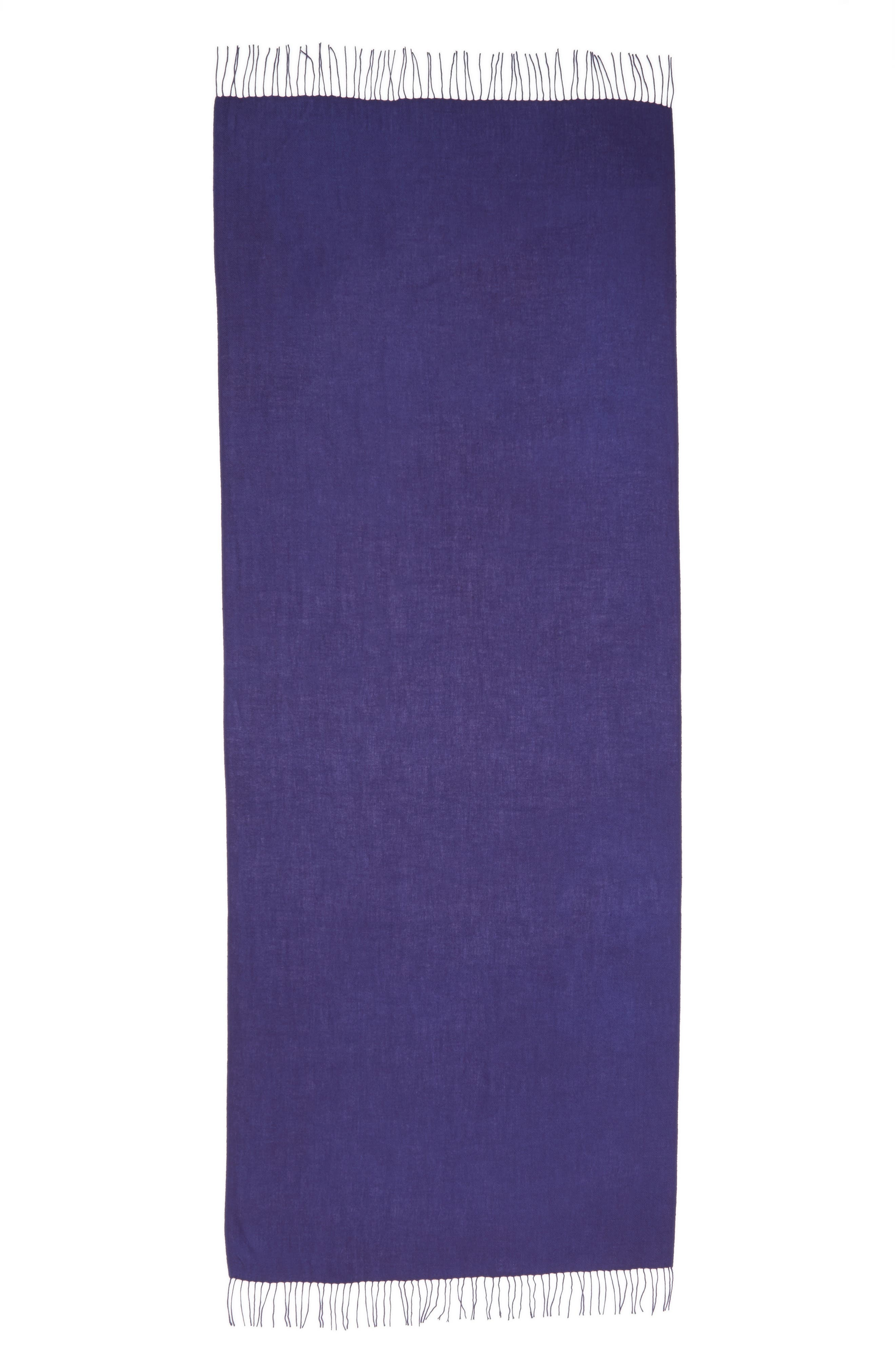 Tissue Weight Wool & Cashmere Scarf,                             Alternate thumbnail 115, color,