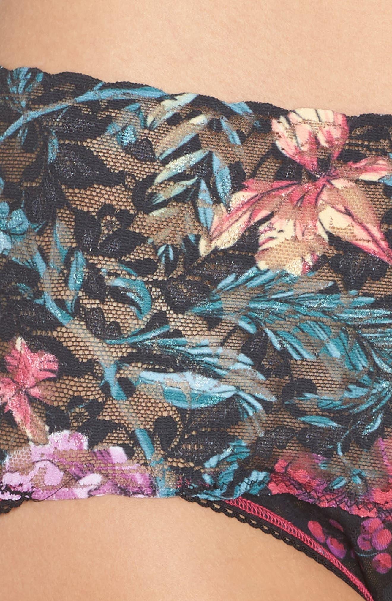 Print Retro V-Kini Bikini,                             Alternate thumbnail 4, color,                             001