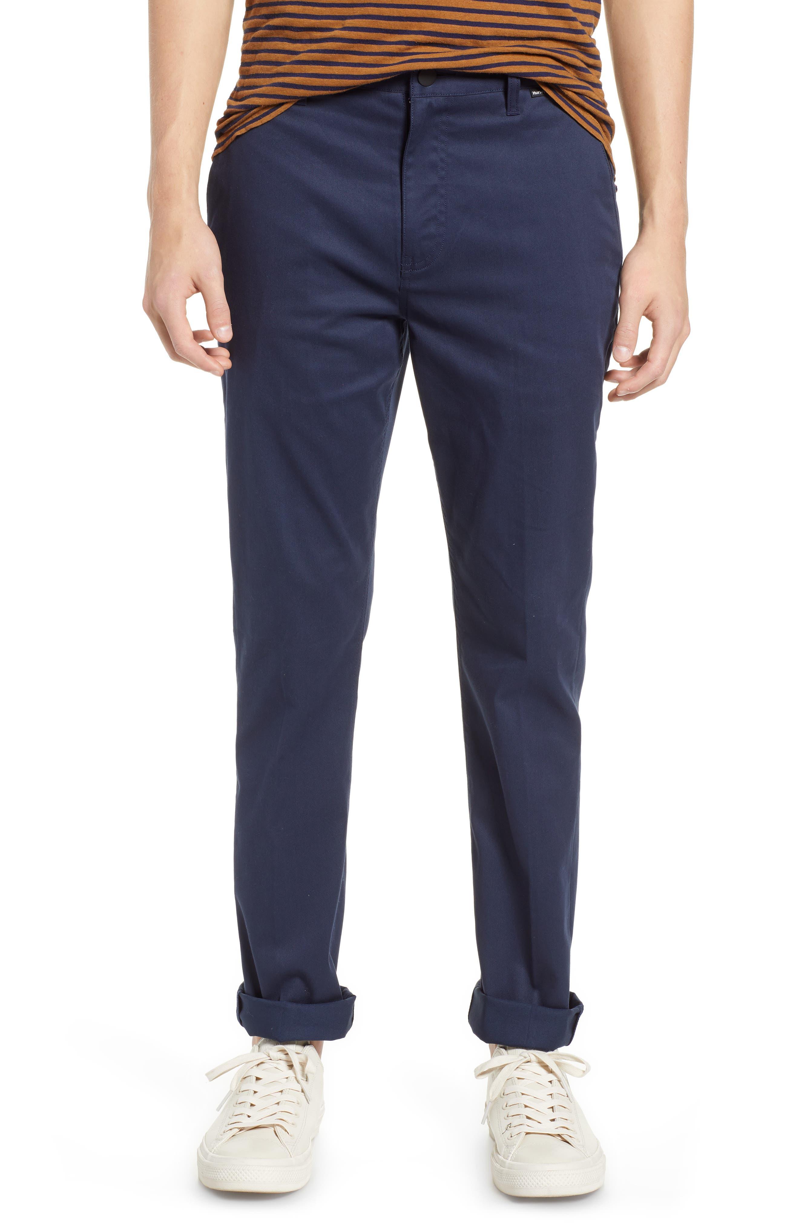 Men's Hurley Dri-Fit Pants, Size 28 - Blue