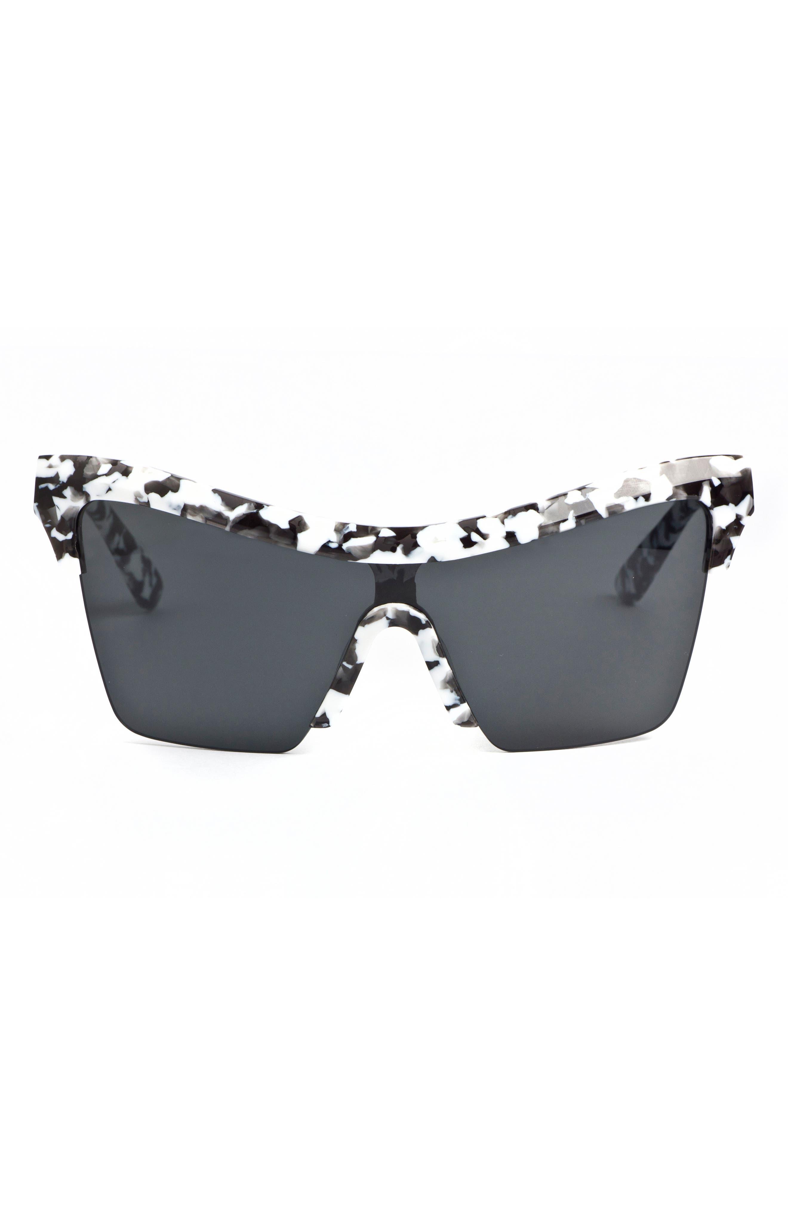 Passport Control 68mm Sunglasses,                             Alternate thumbnail 3, color,                             WHITE CAMO