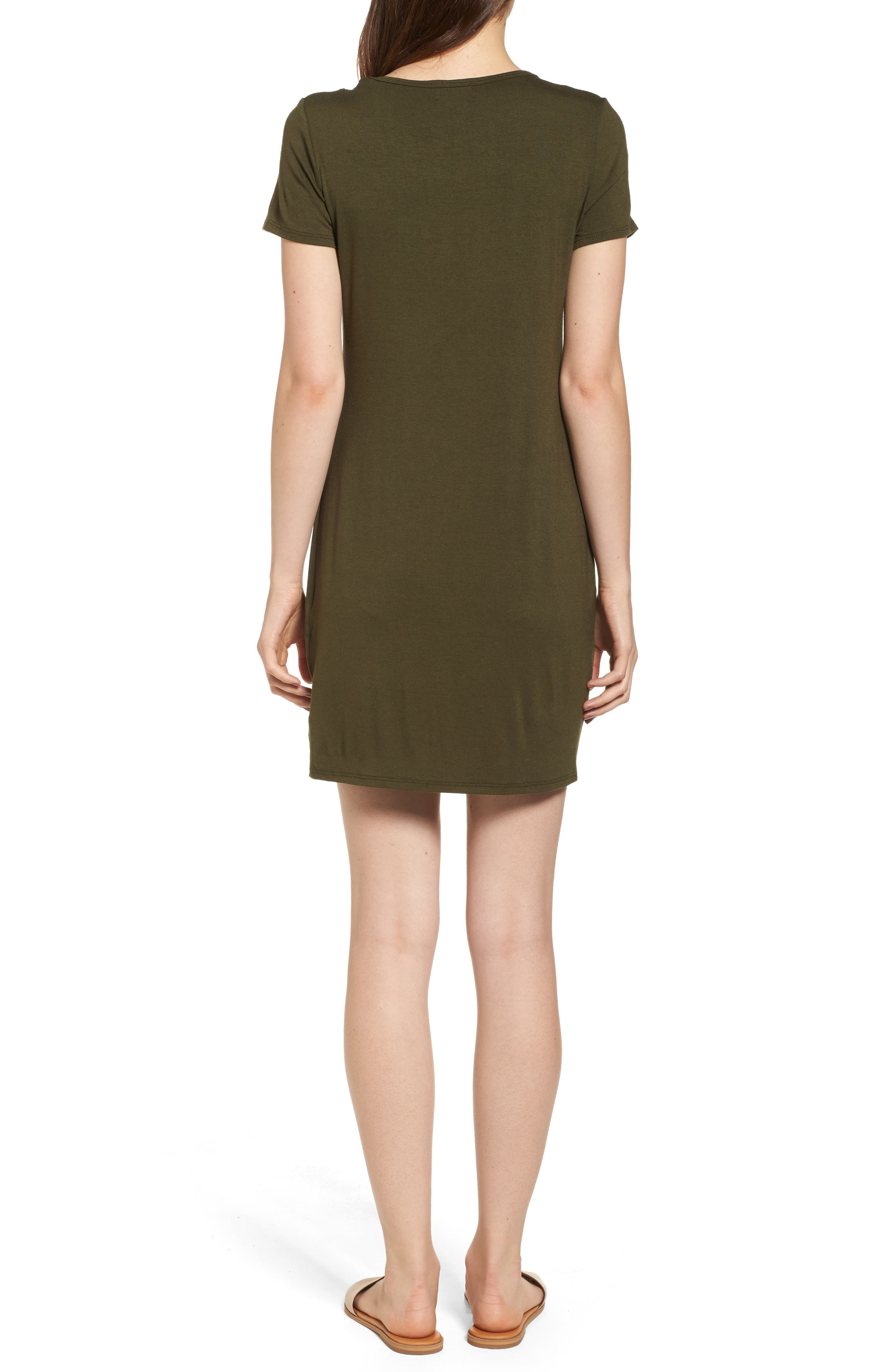 Mesh Inset Dress,                             Alternate thumbnail 4, color,